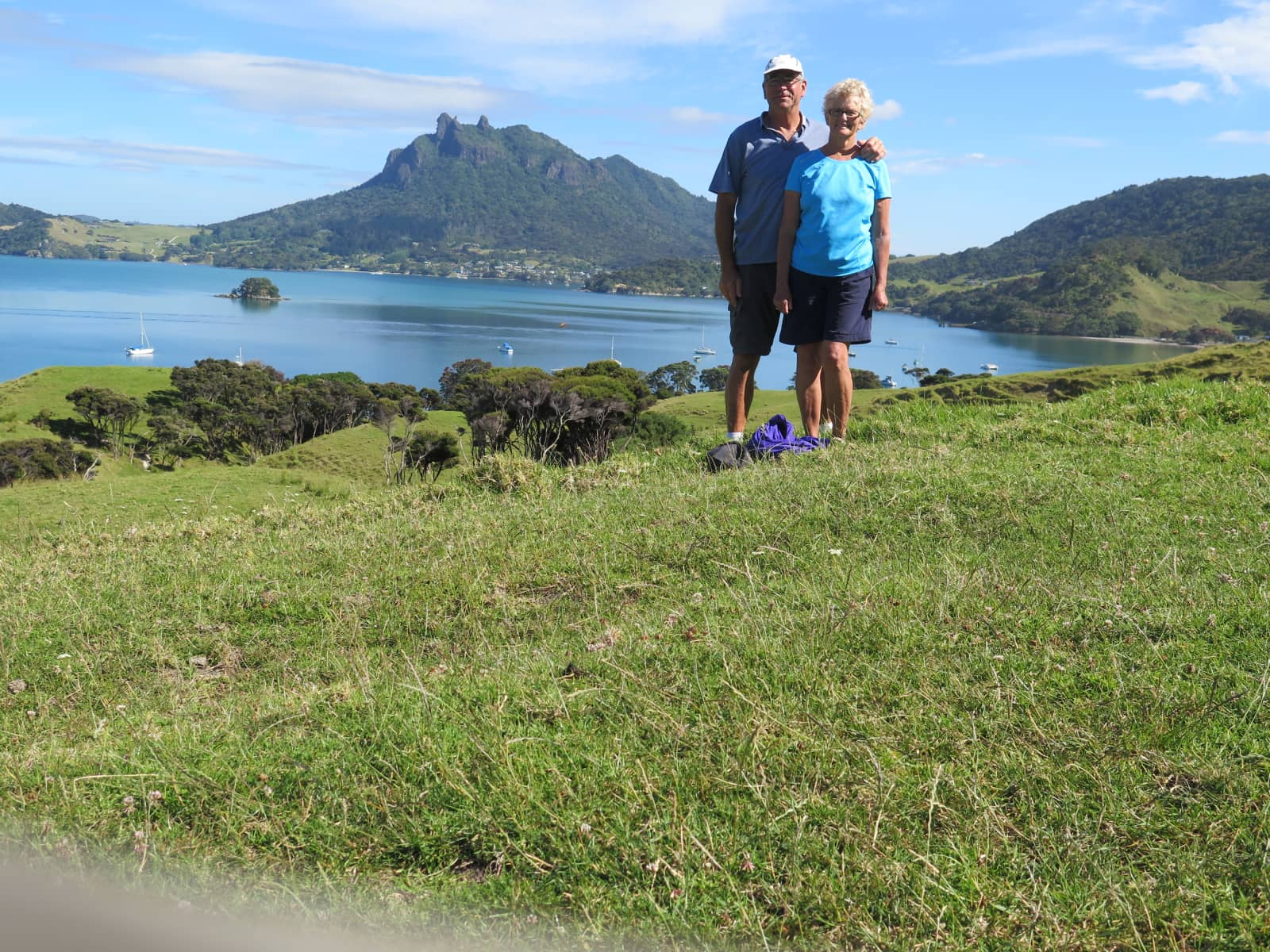 Bonnie & Harvey from Whangarei Heads, New Zealand