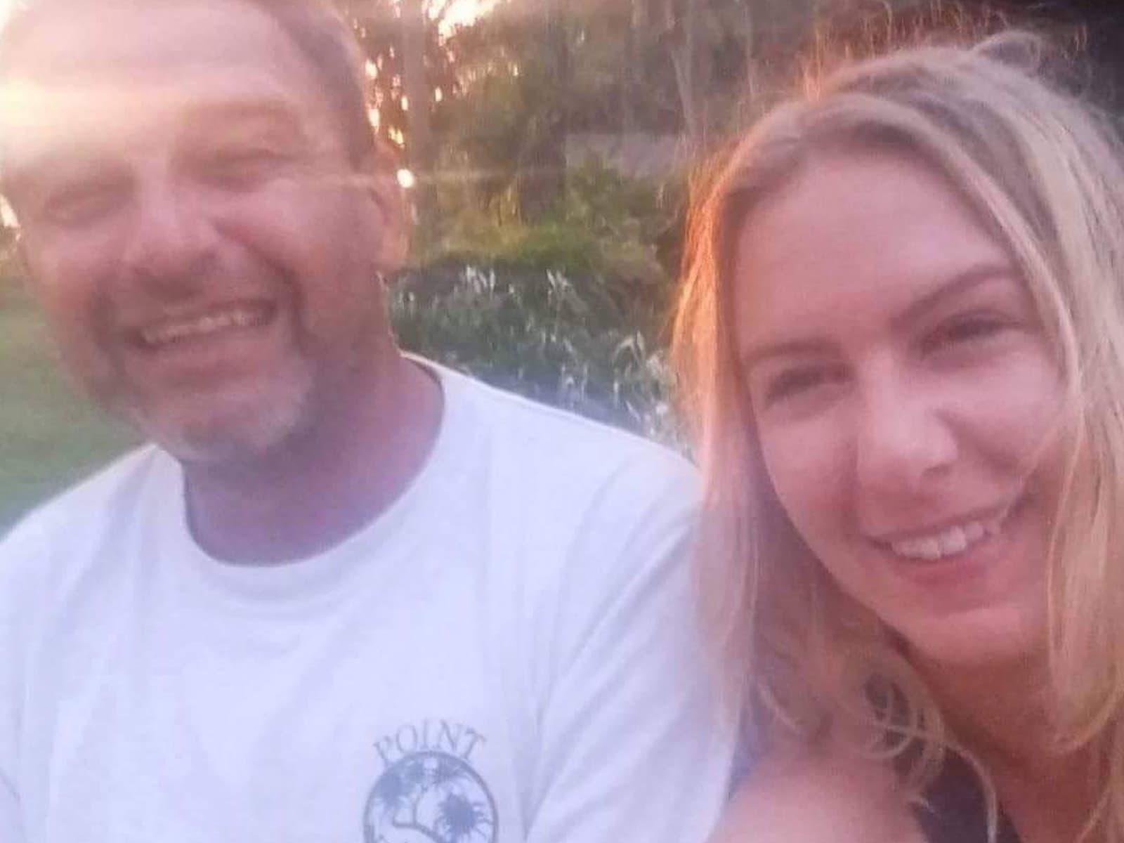 Katja & Andrew from Korolevu, Fiji