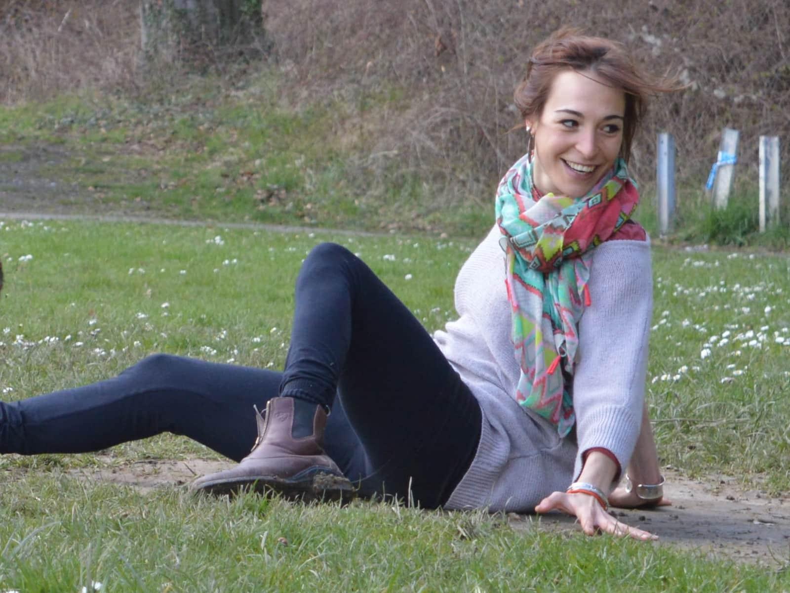 Zita from Brussels, Belgium