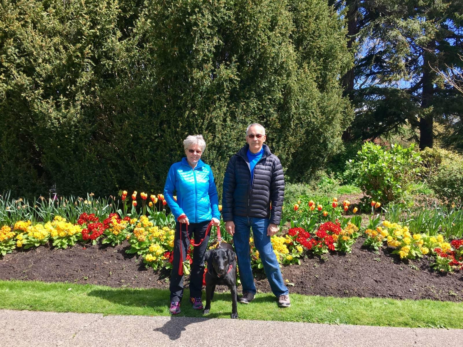 Jane & James from Courtenay, British Columbia, Canada