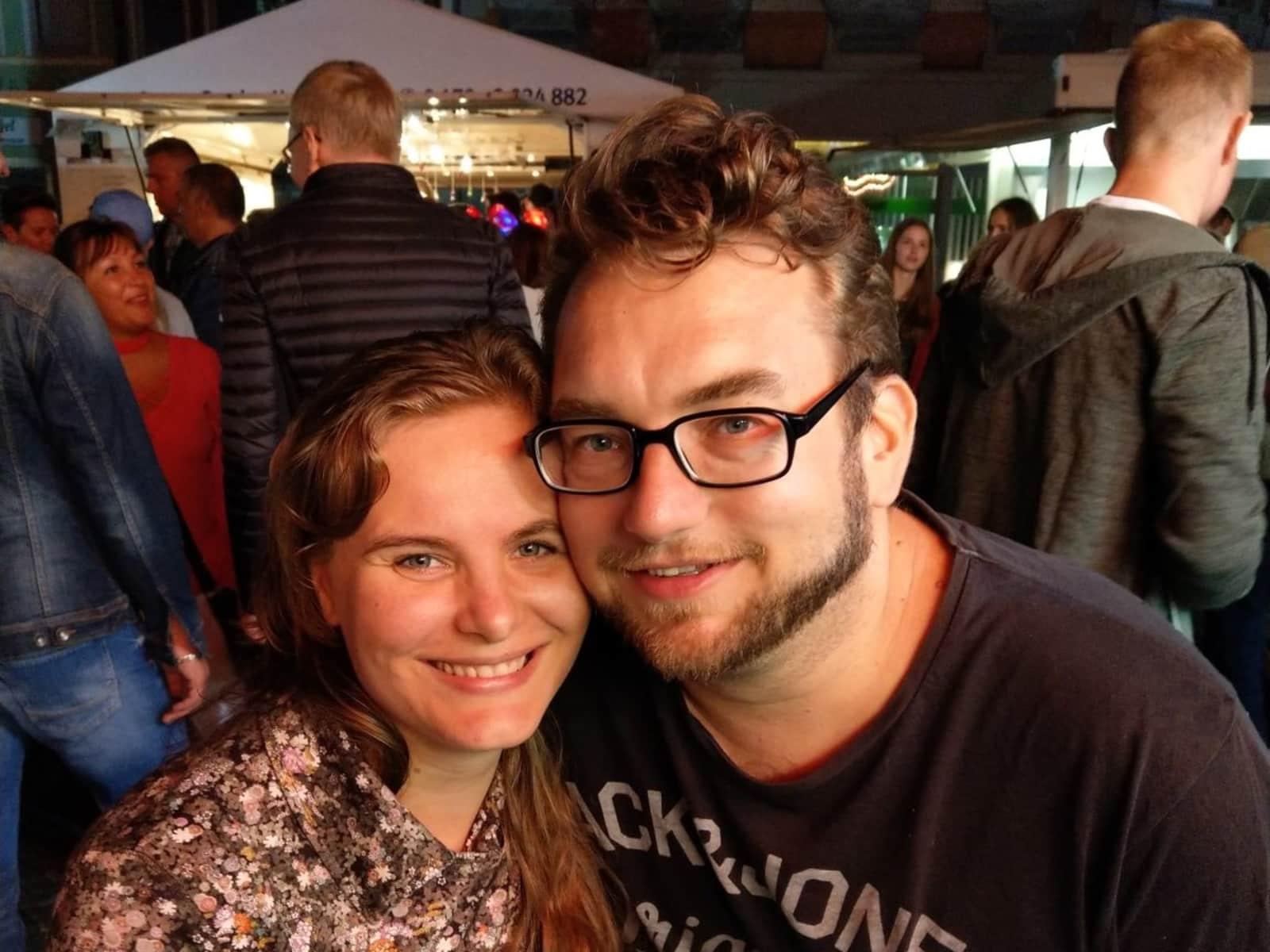 Christina & Frank from Helmstedt, Germany
