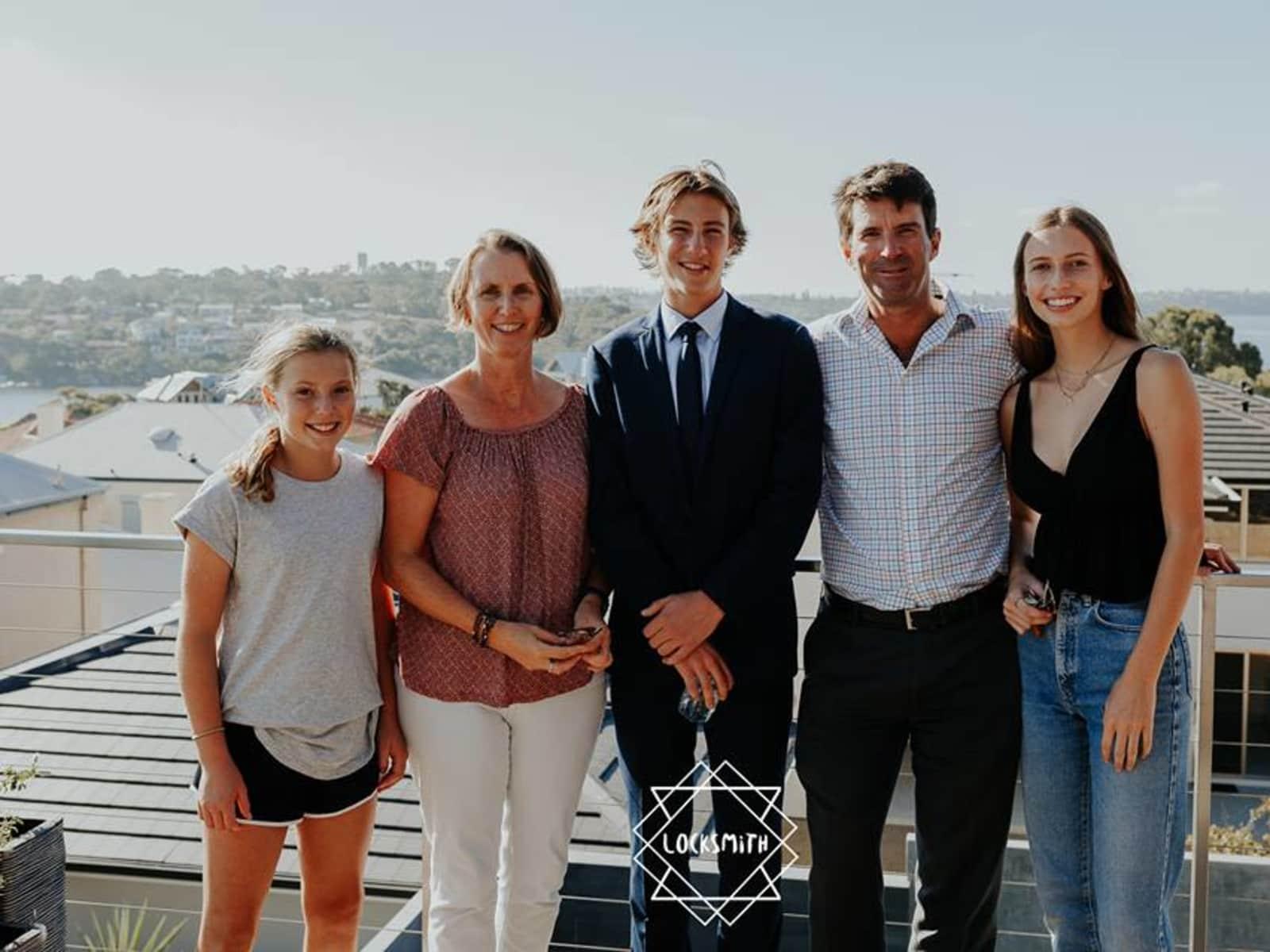 Susannah & Peter from Perth, Western Australia, Australia