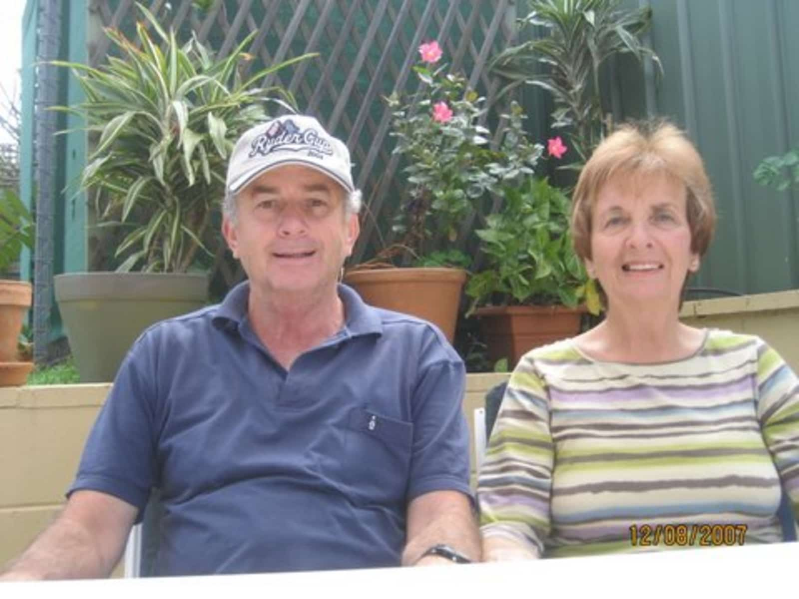 Peter & Beverley from South Brisbane, Queensland, Australia
