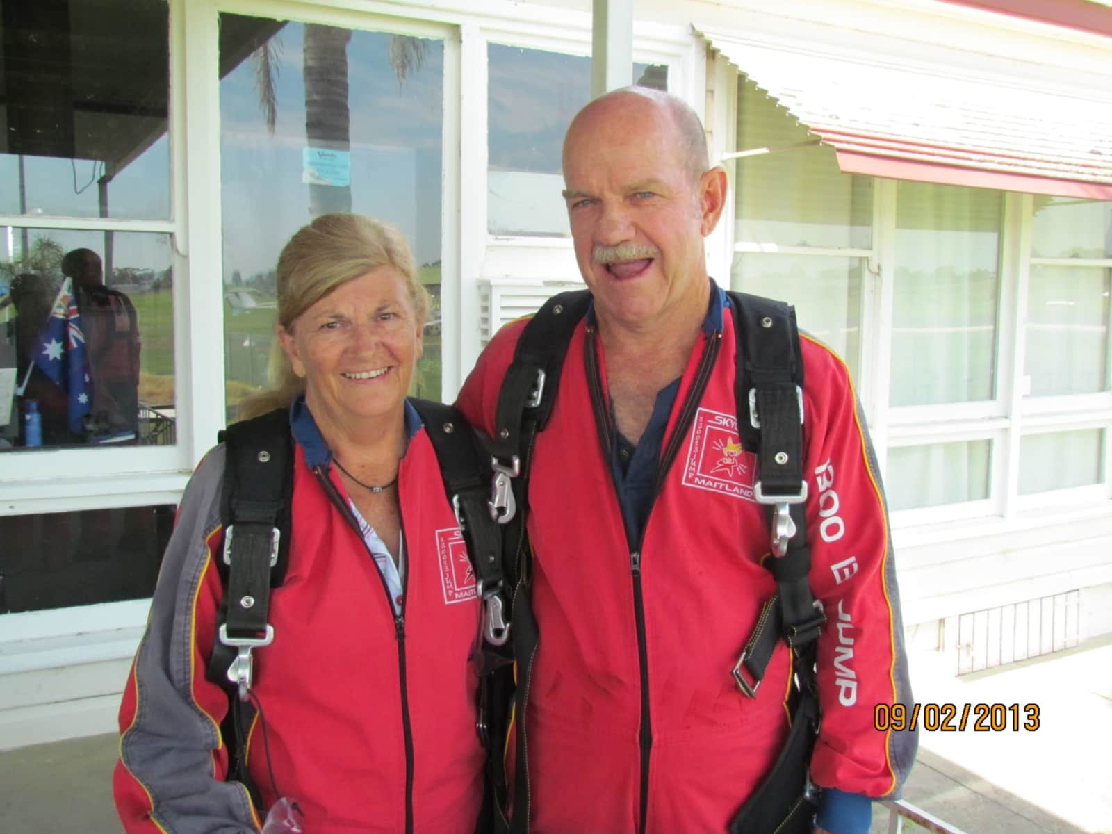 Margaret & David from Newcastle, New South Wales, Australia