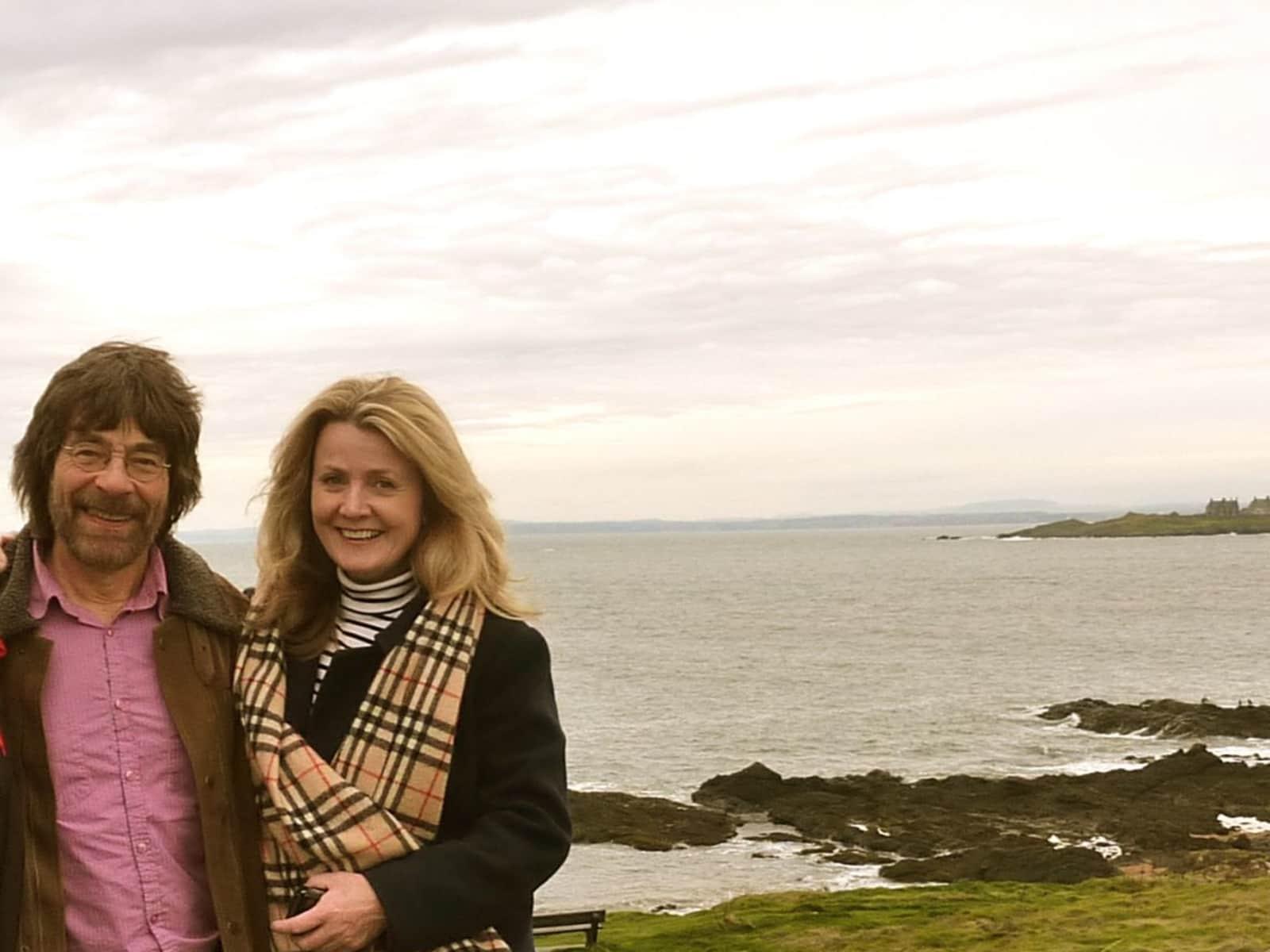 Moira & Ronald from Edinburgh, United Kingdom