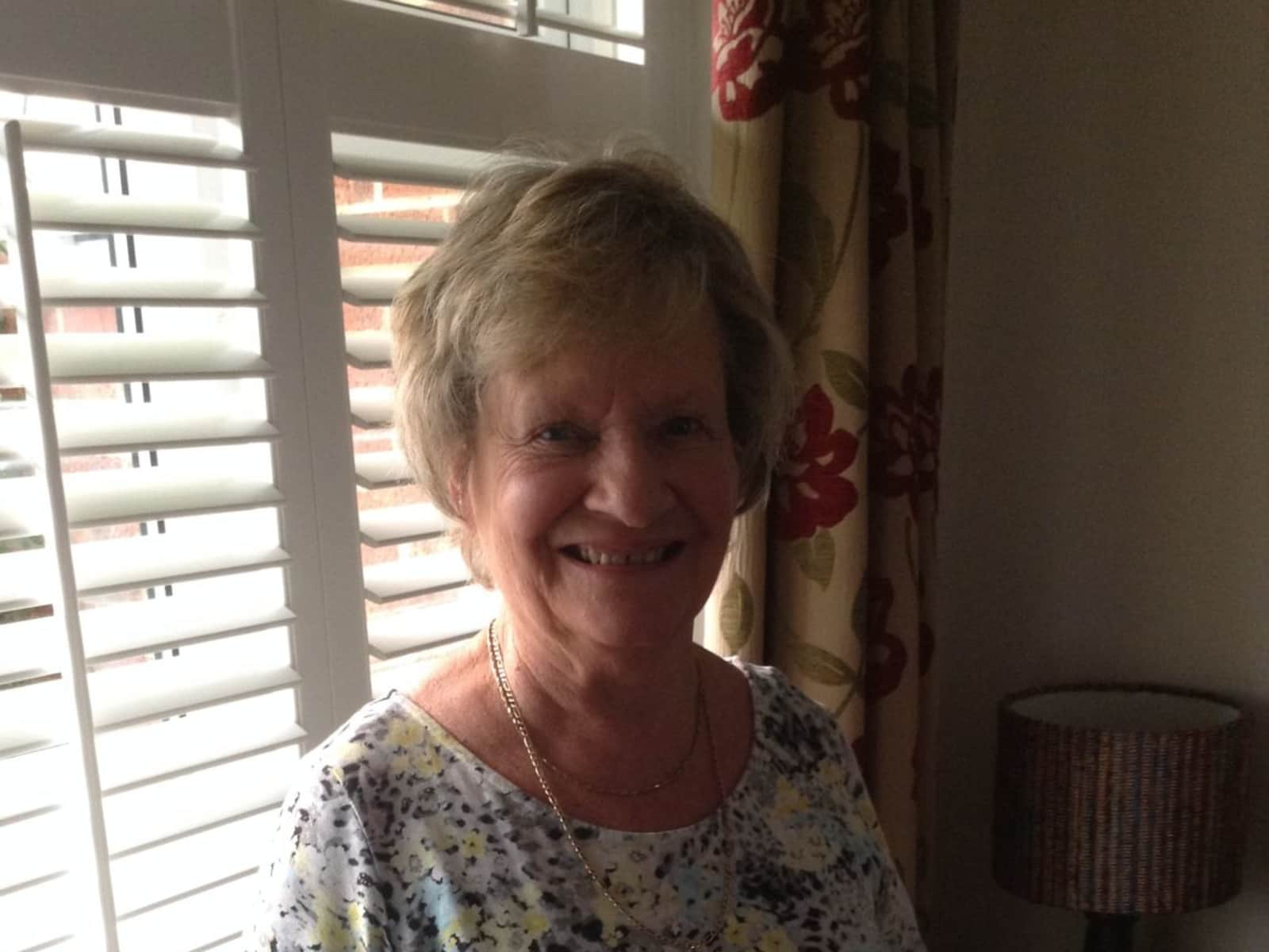 Judith from Great Torrington, United Kingdom