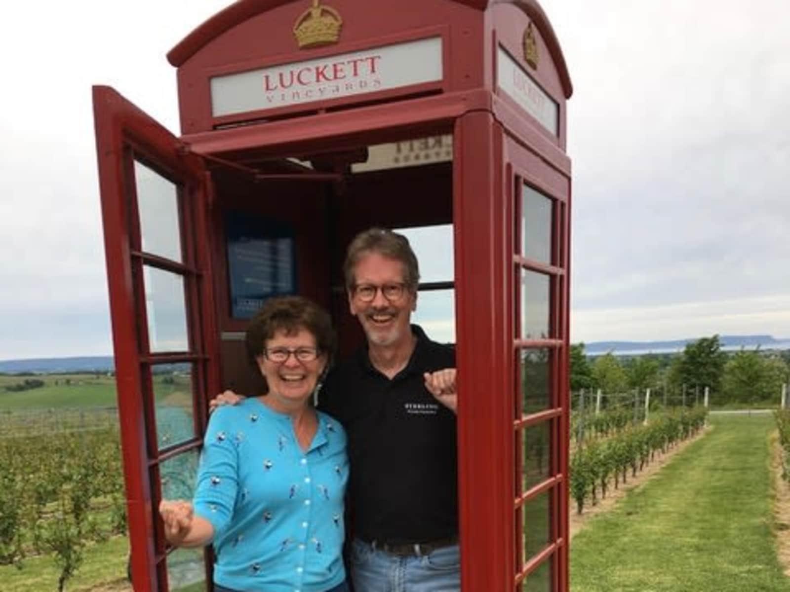 Heather & Ron from Ottawa, Ontario, Canada
