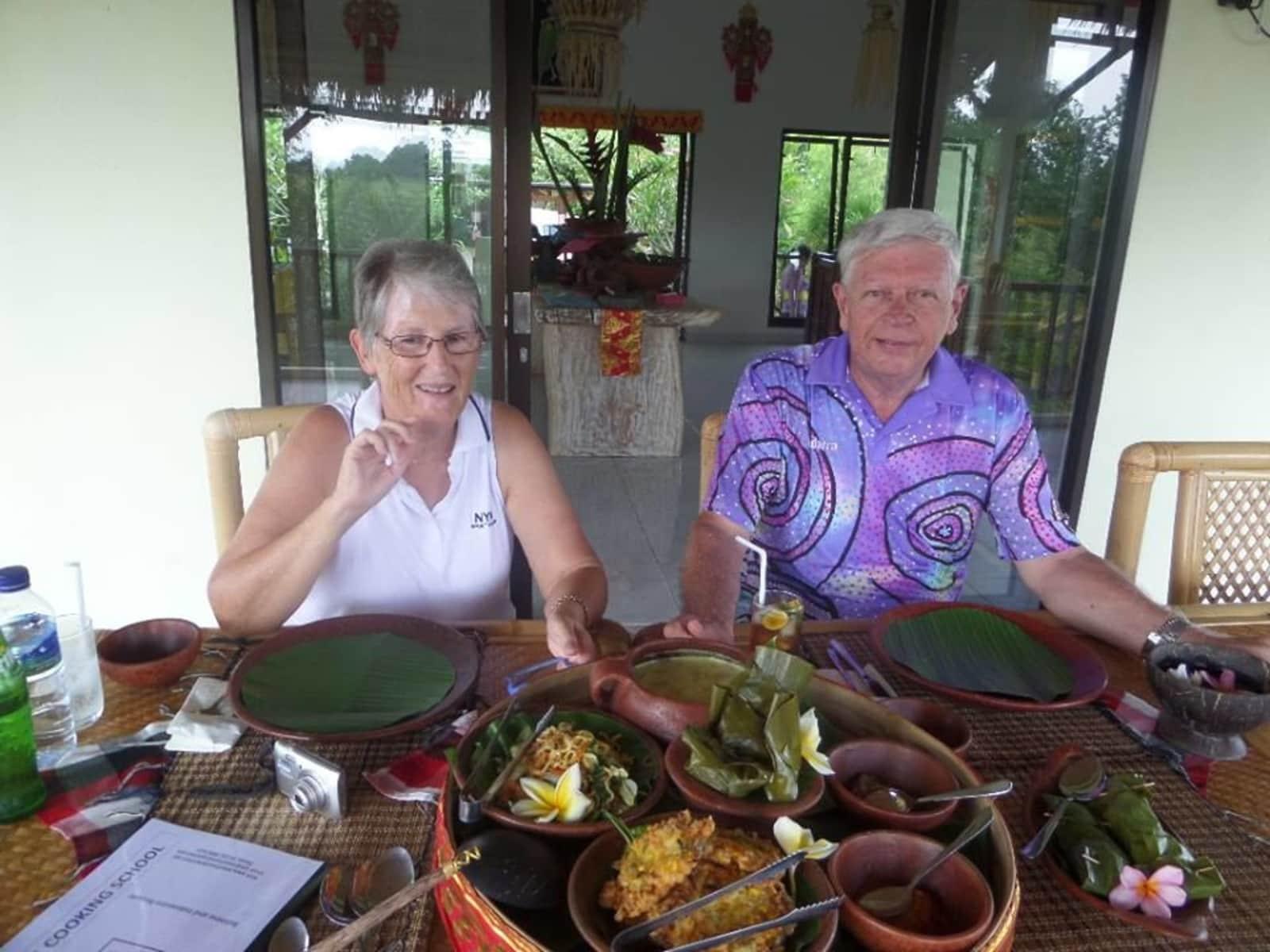 Christine & John from Perth, Western Australia, Australia