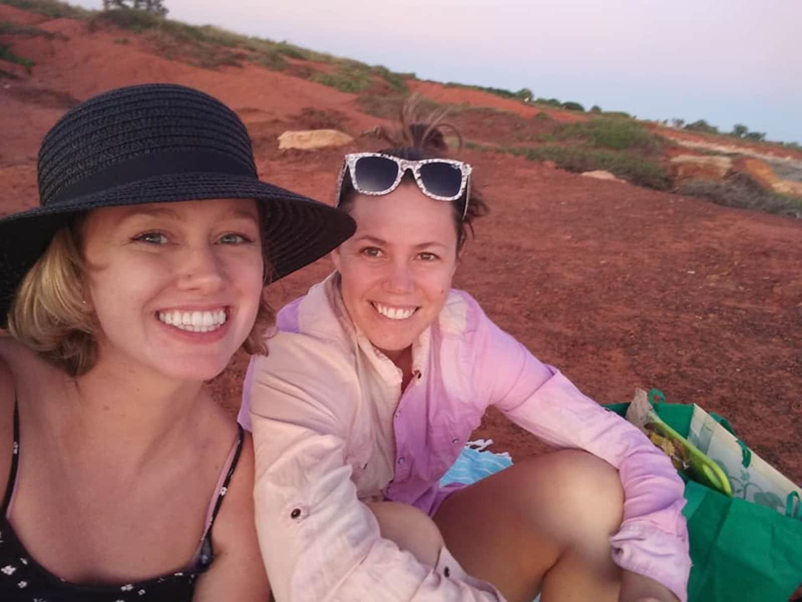 Emily & Kaitlin from Broome, Western Australia, Australia