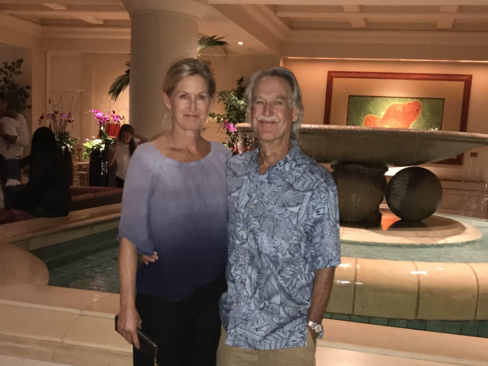 Edith & Randall from San Rafael, California, United States