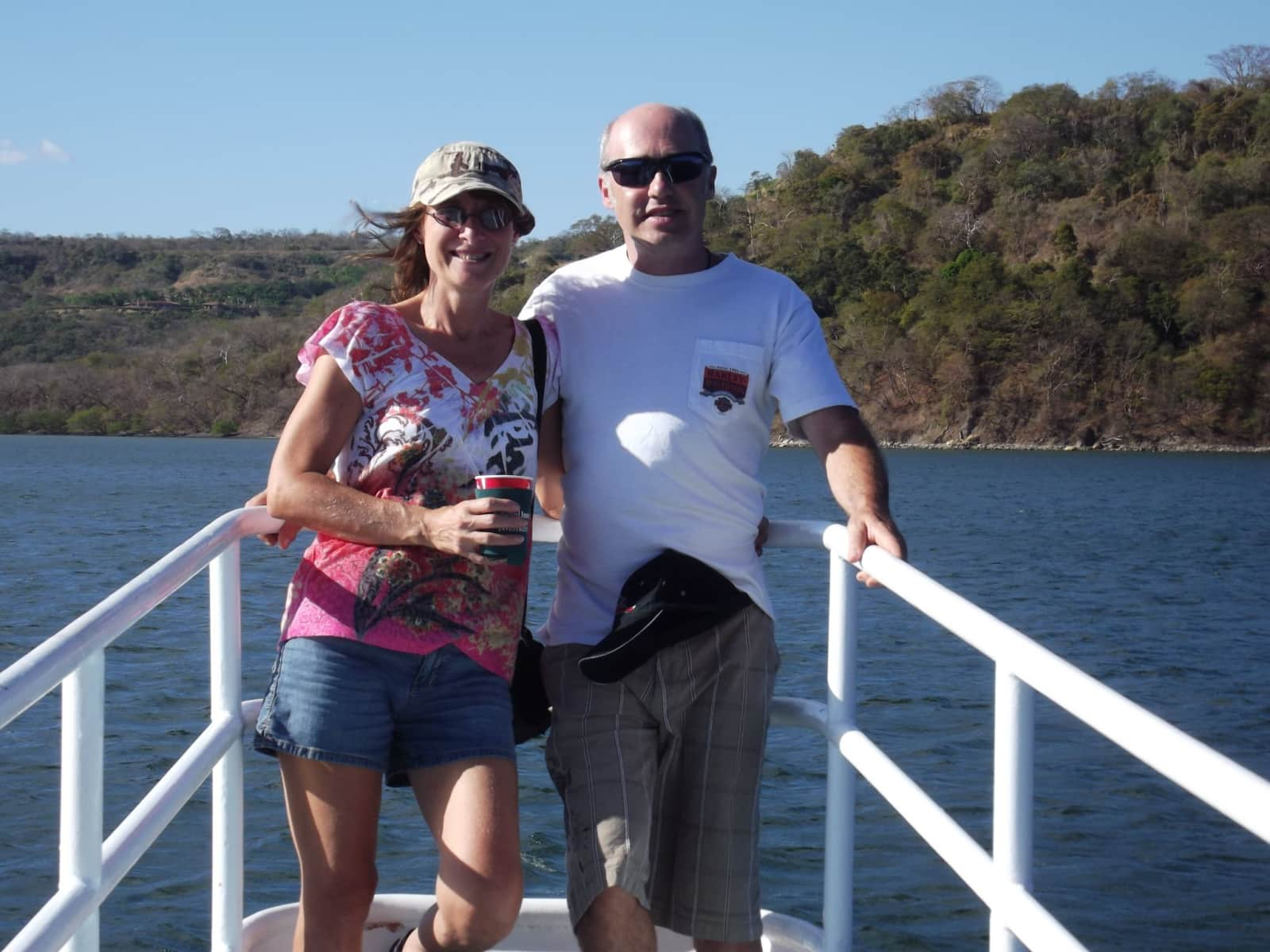 Cathy & Patrick from Coco, Sardinal, Costa Rica