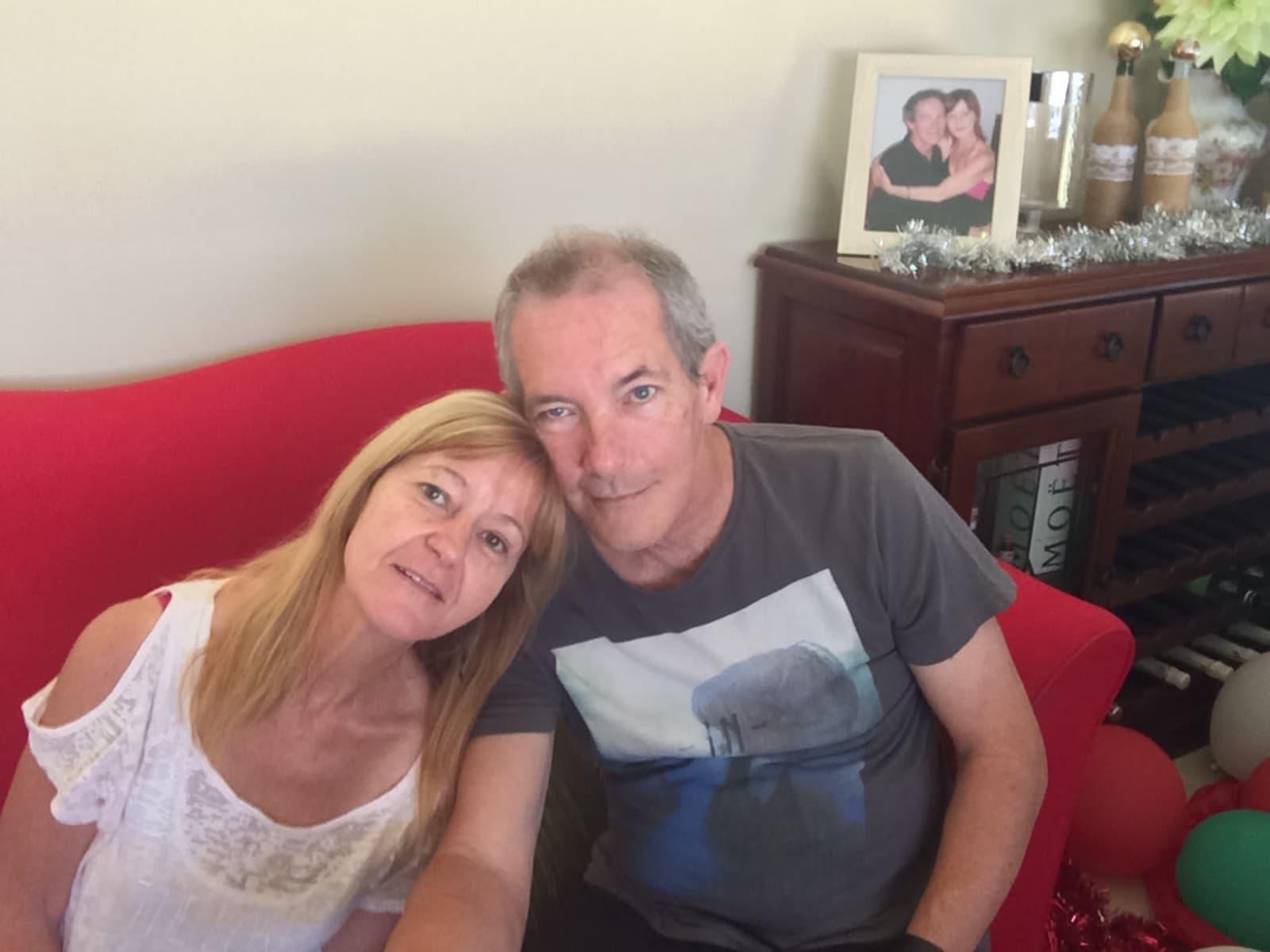 Peter & Karen from Perth, Western Australia, Australia