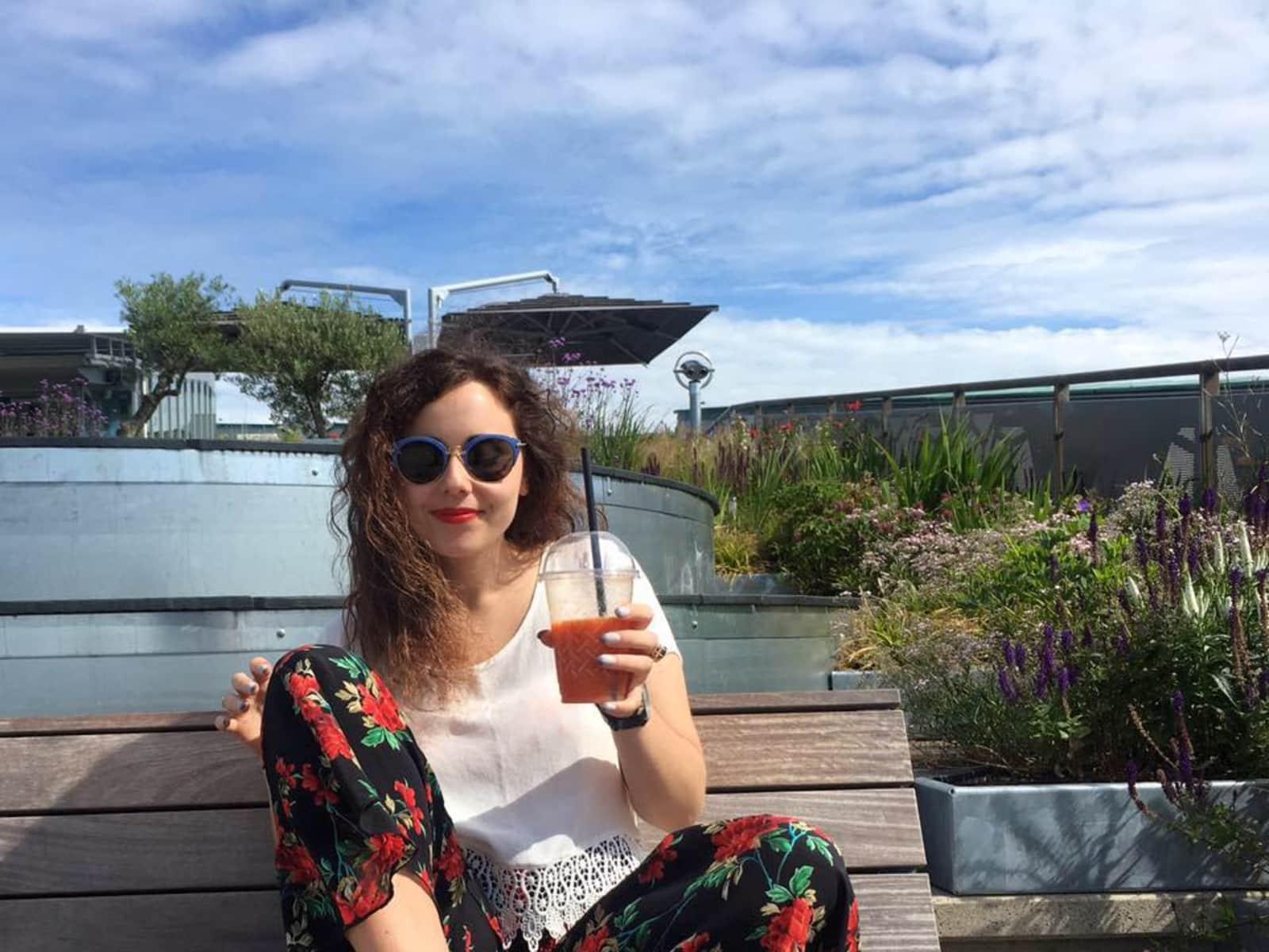Nicola from Hobart, Tasmania, Australia
