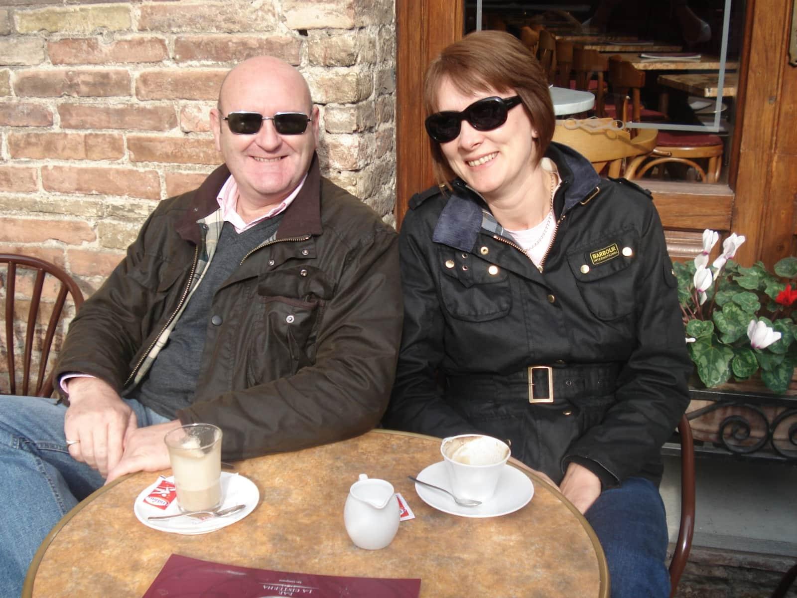 Richard & Nichola from Faugères, France