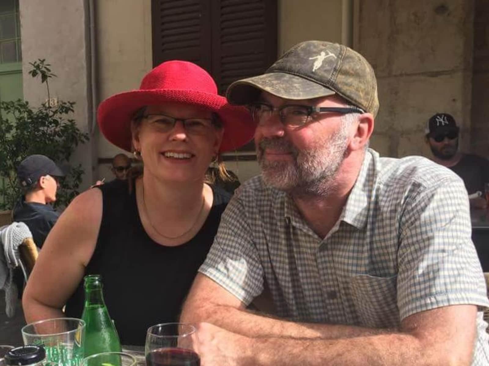 Maree & Paul from Wellington, New Zealand