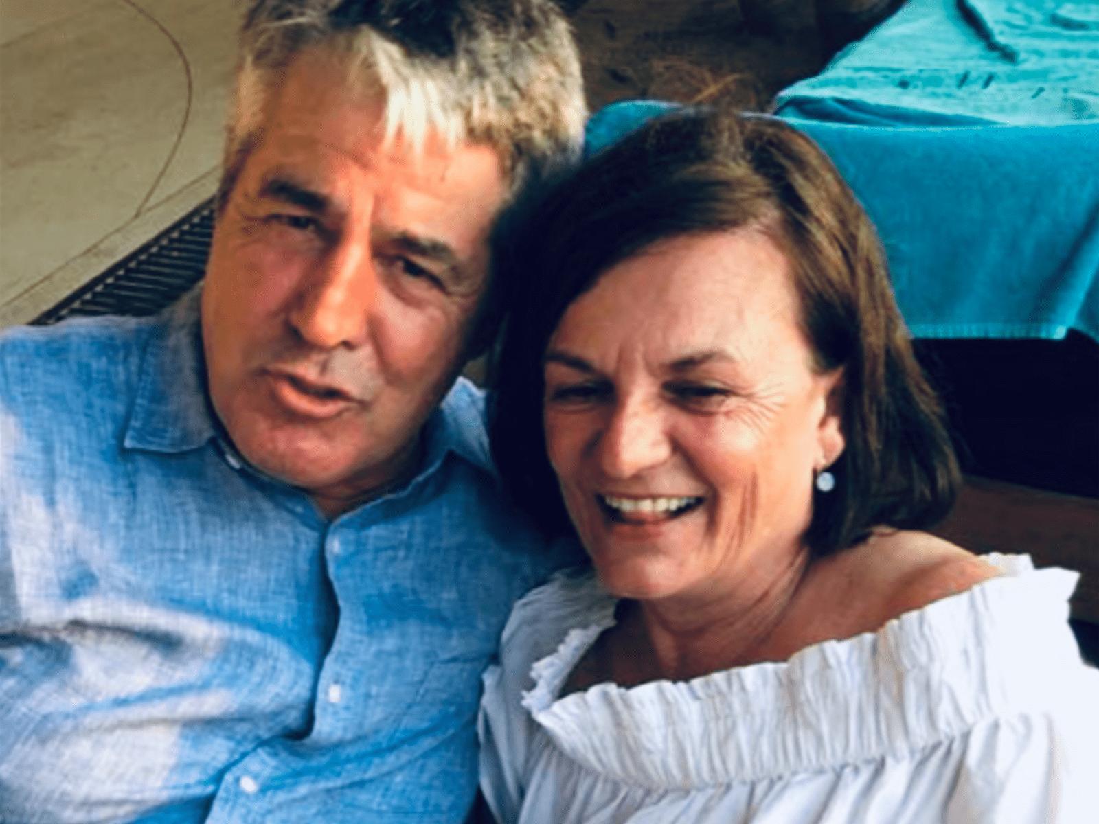 Rainer & Lorraine from College Park, South Australia, Australia
