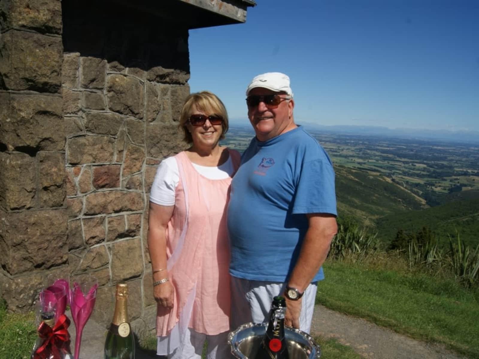 Marilyn & Graeme from Christchurch, New Zealand