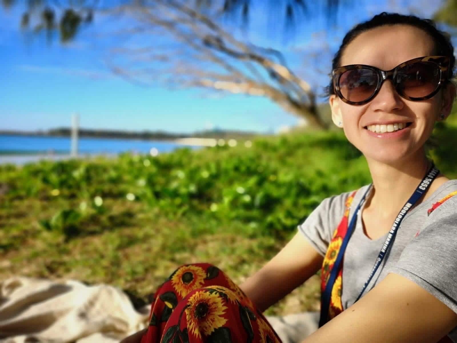 Rebecca from Brisbane, Queensland, Australia