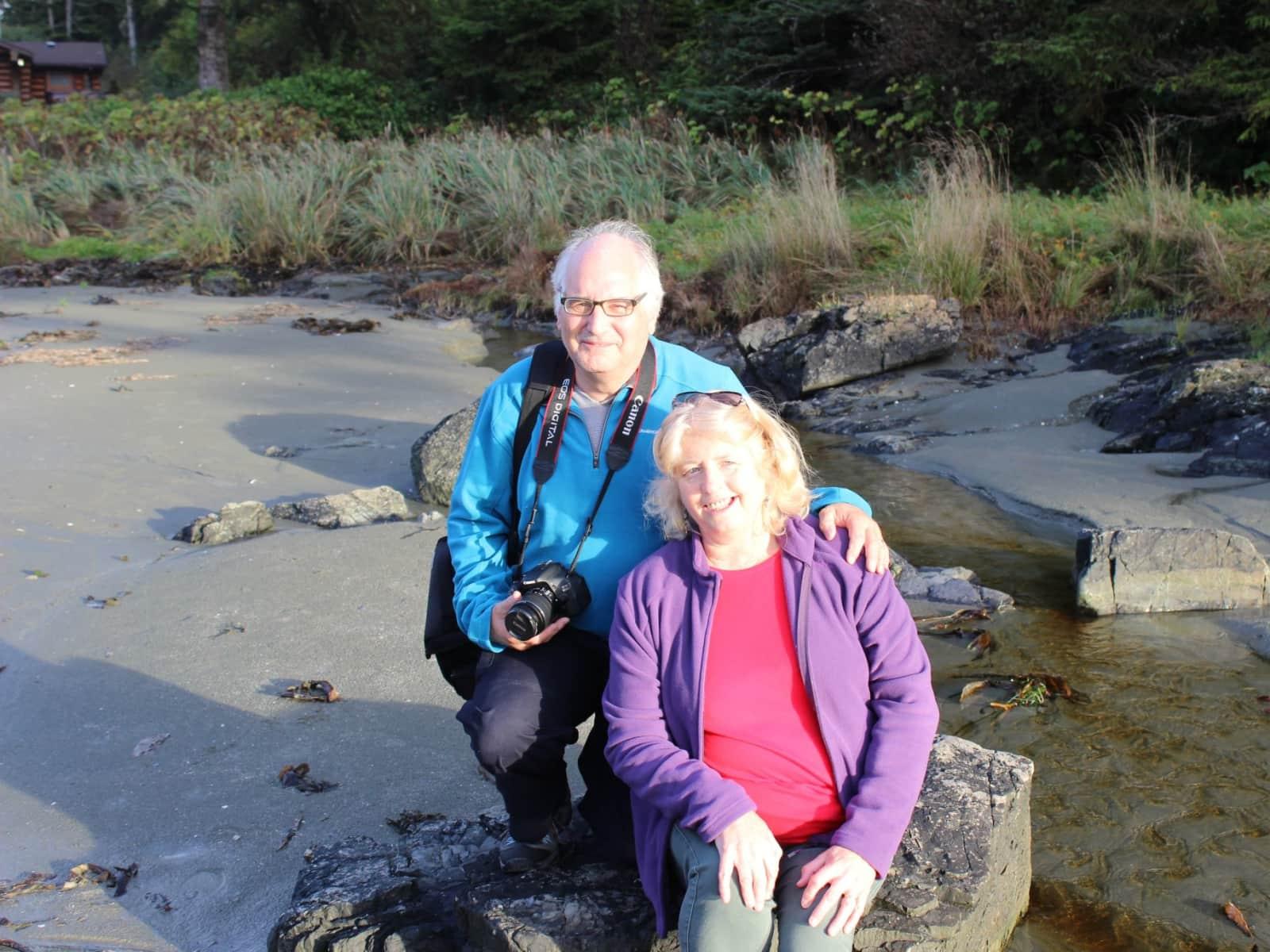 Les & Anita from Hastings, United Kingdom