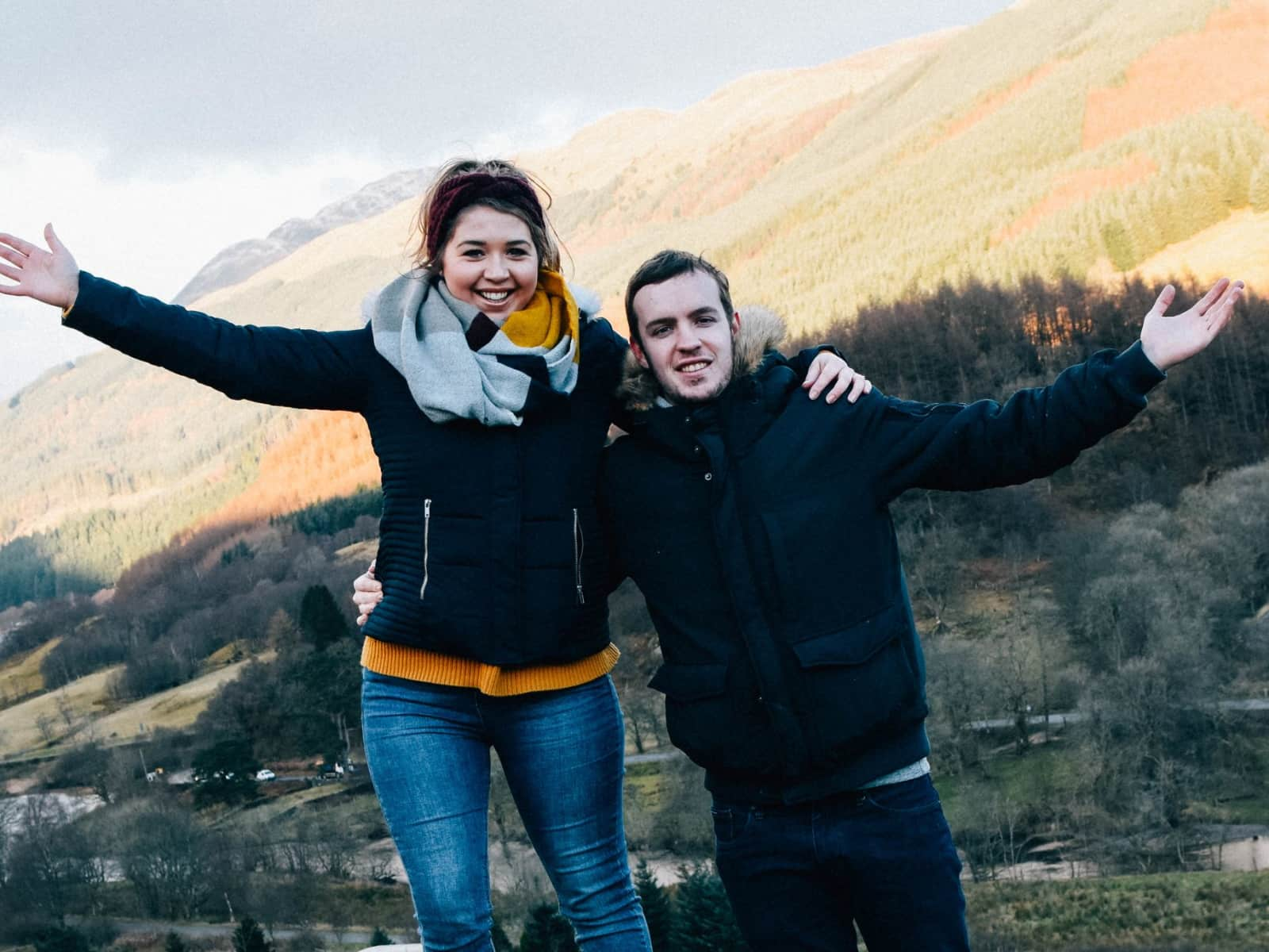 Rebecca & Ben from Llanfairpwllgwyngyll, United Kingdom