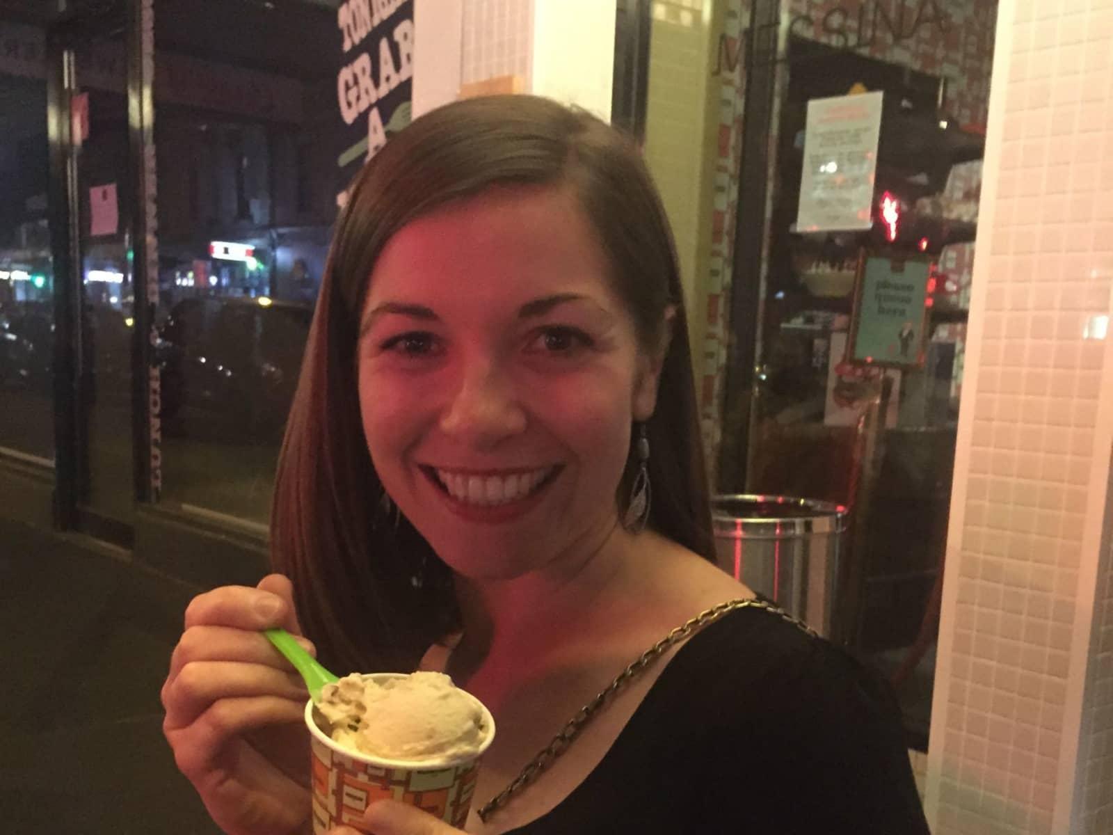 Alison from Melbourne, Victoria, Australia