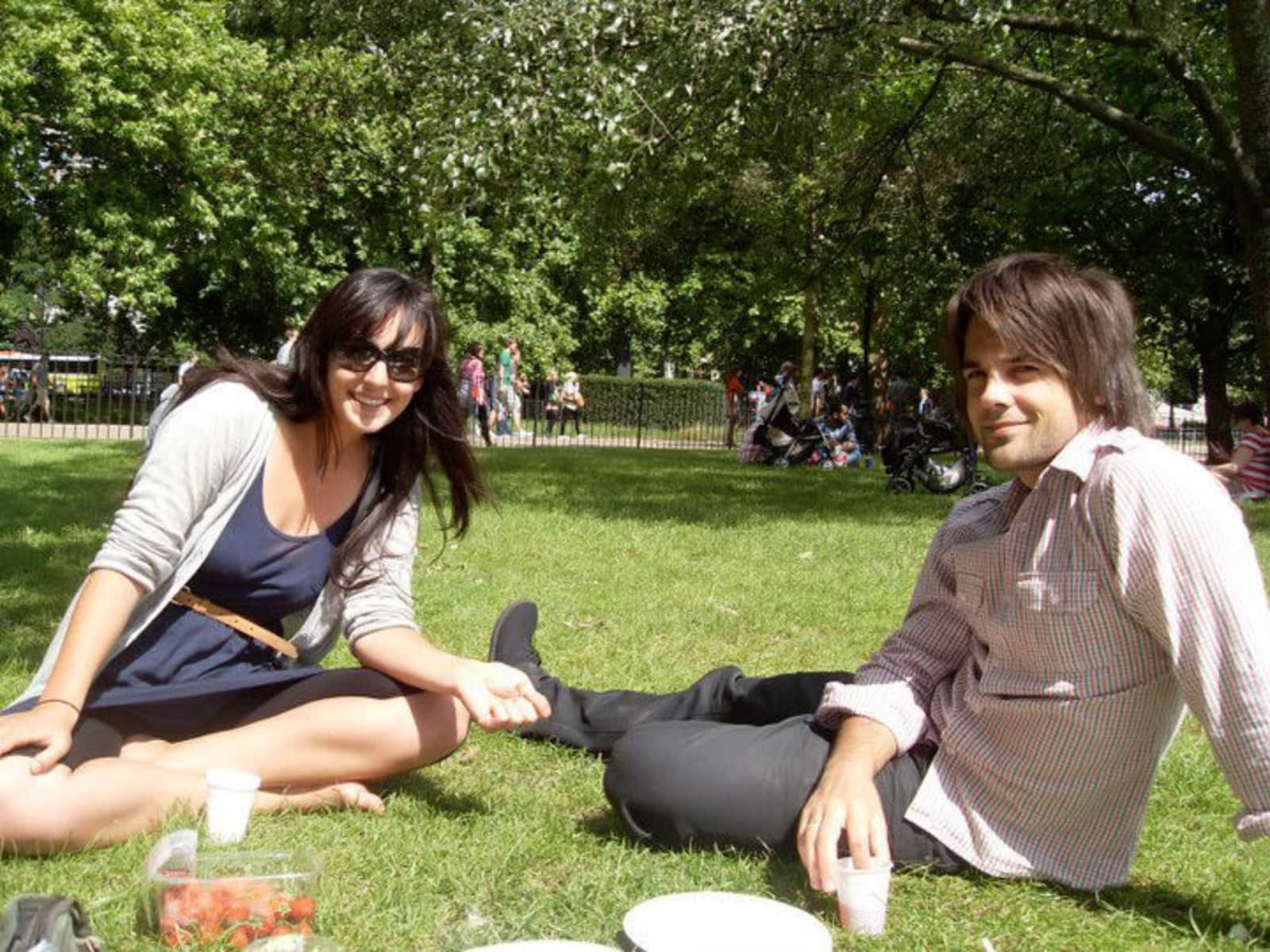 Brad & Luisa from London, United Kingdom