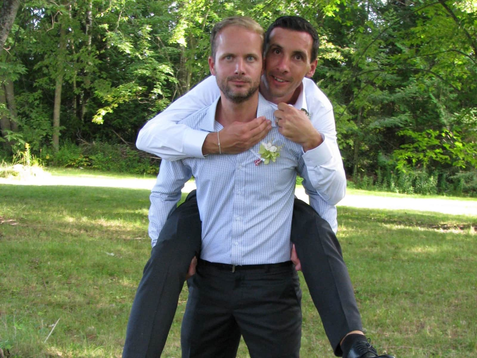 Michael & James from Oxford, United Kingdom
