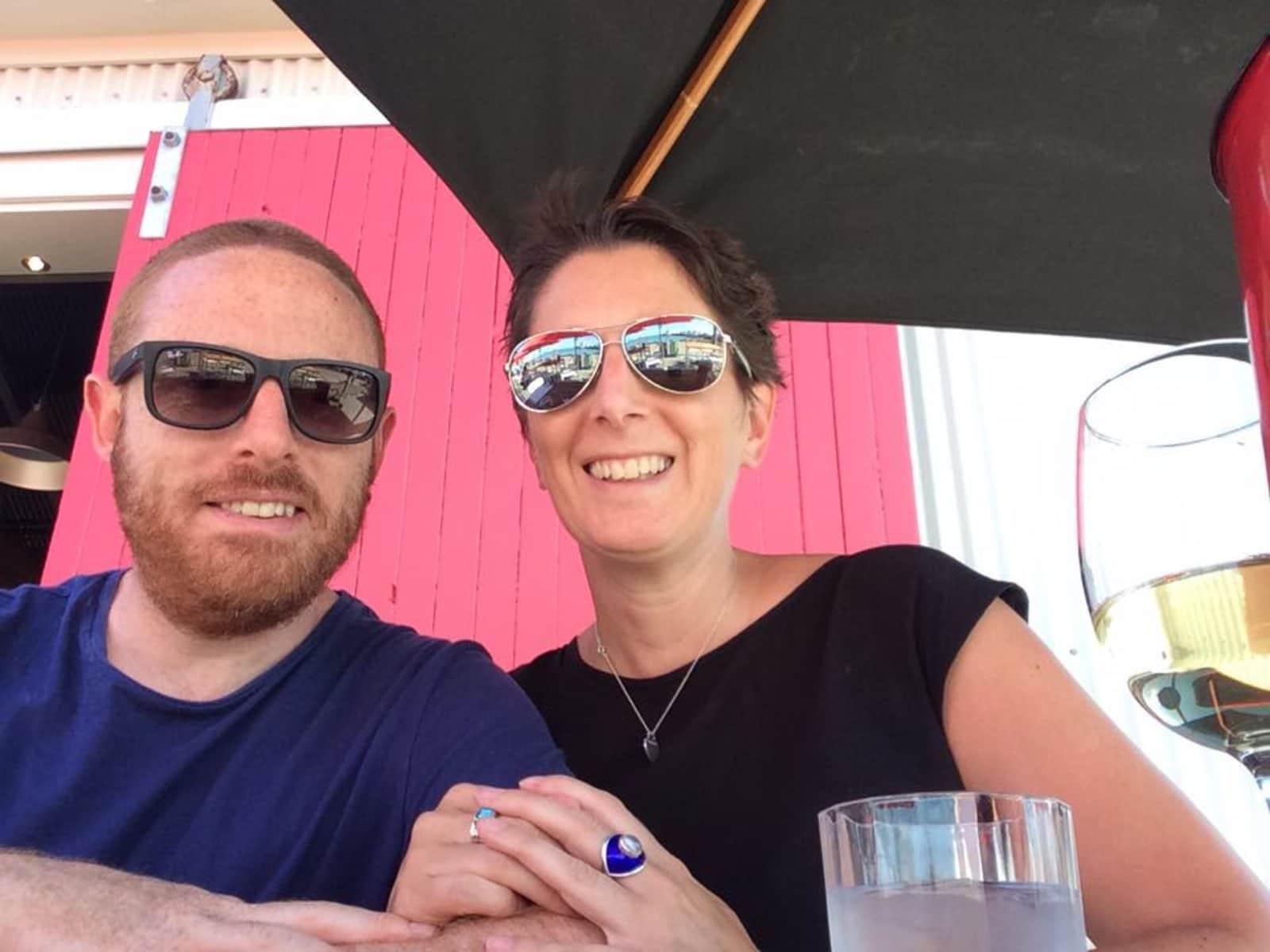Amanda & Simon from Auckland, New Zealand