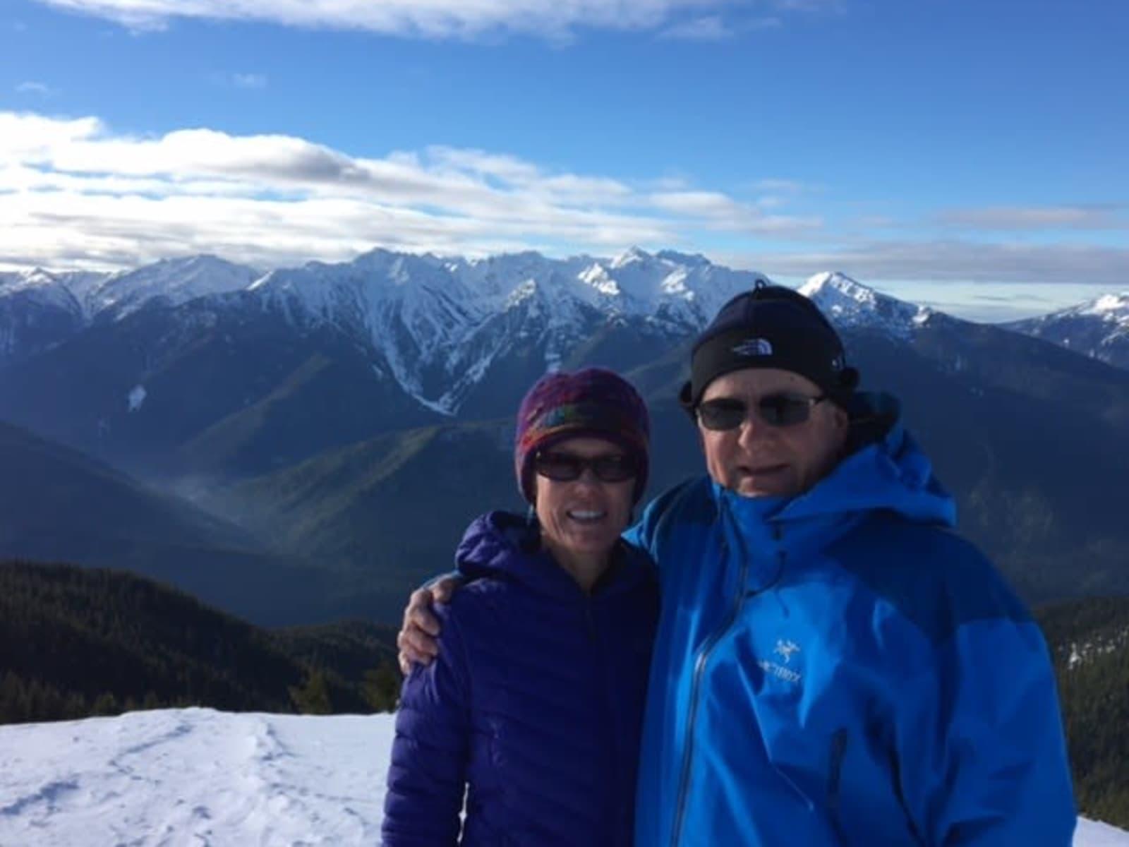 Michele & Stephen from Seattle, Washington, United States