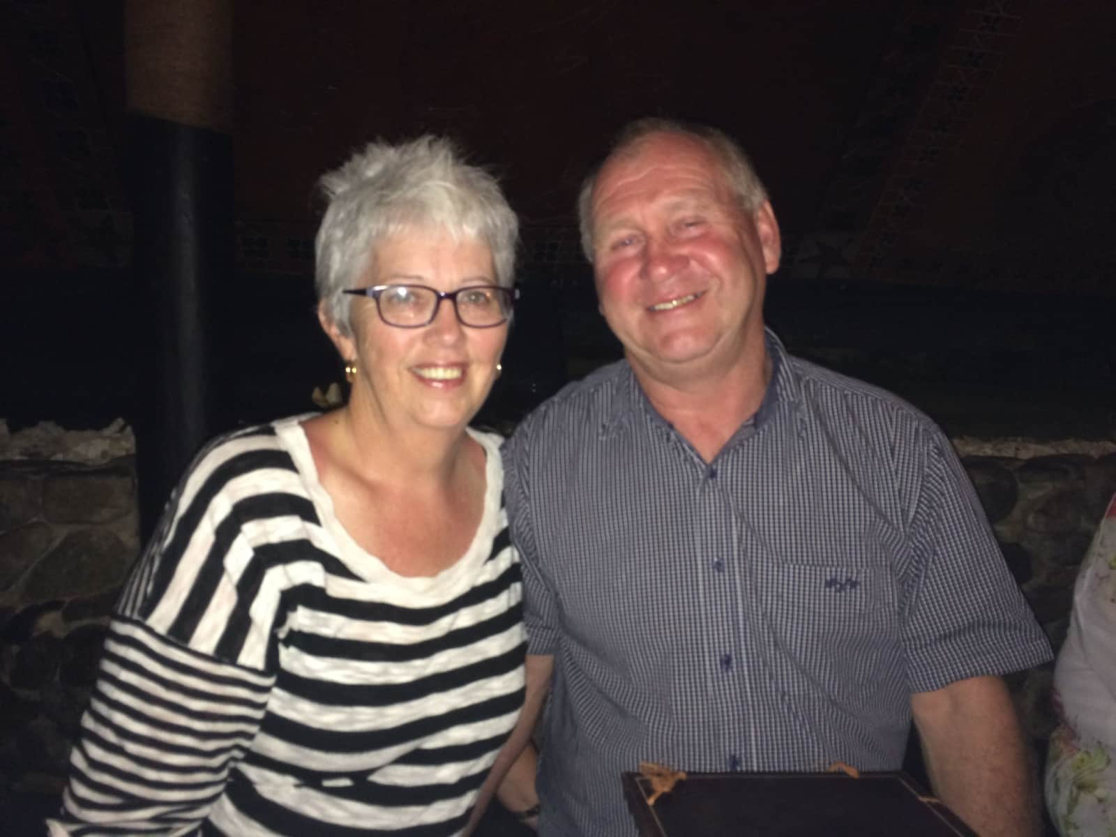 Sharon & Dave from Havelock North, New Zealand