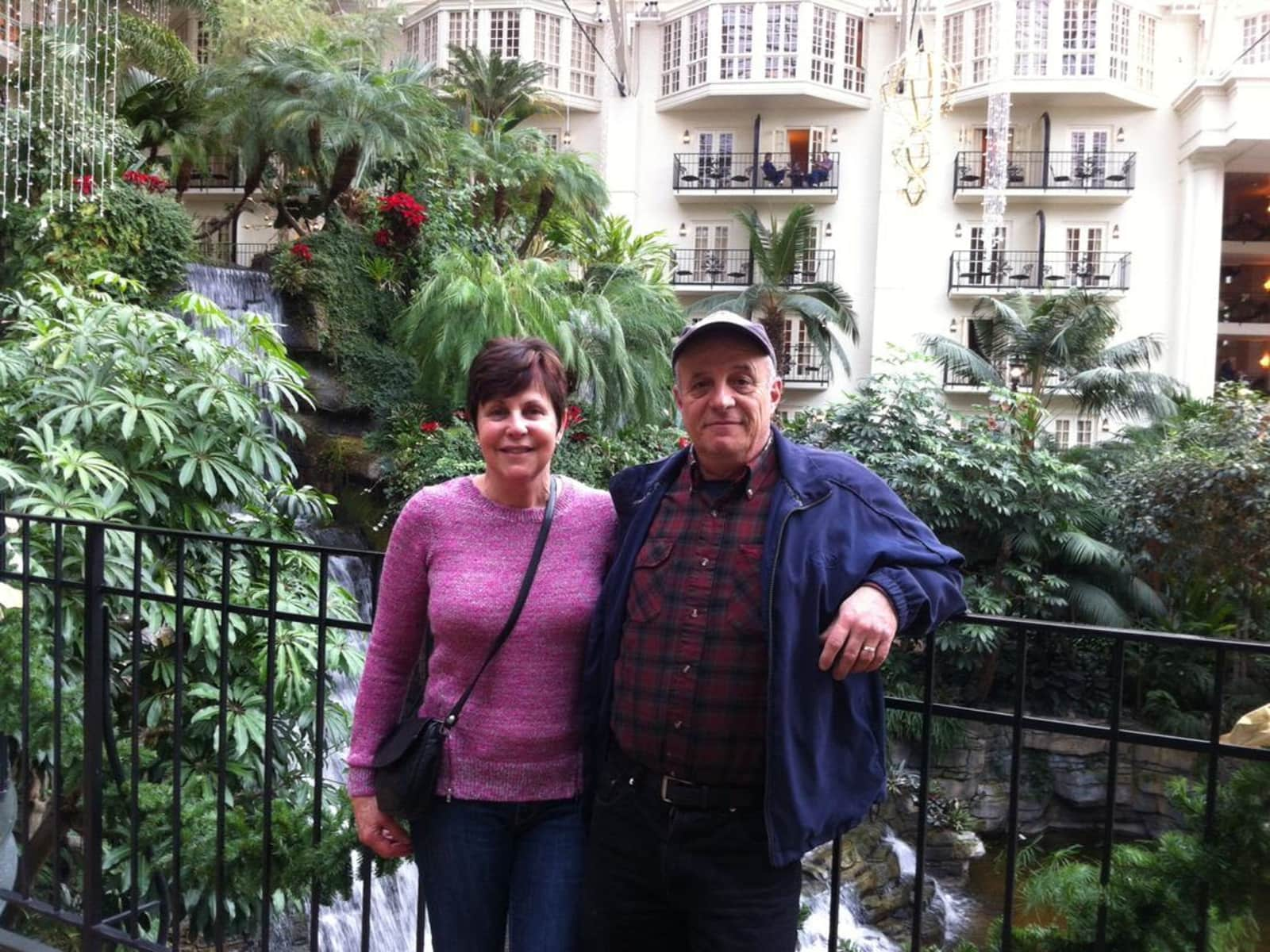 Sandy & Jim from Lindsay, Ontario, Canada