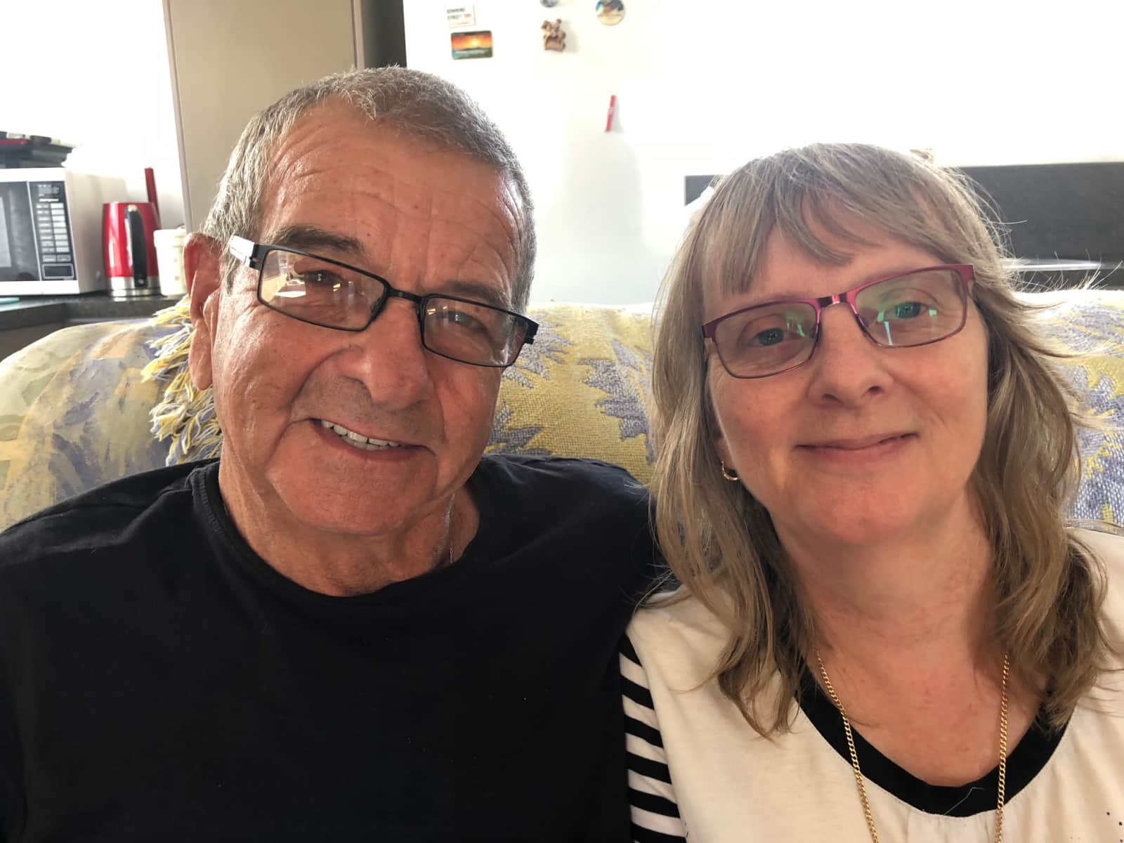 Sarah & Errol from Nelson, New Zealand