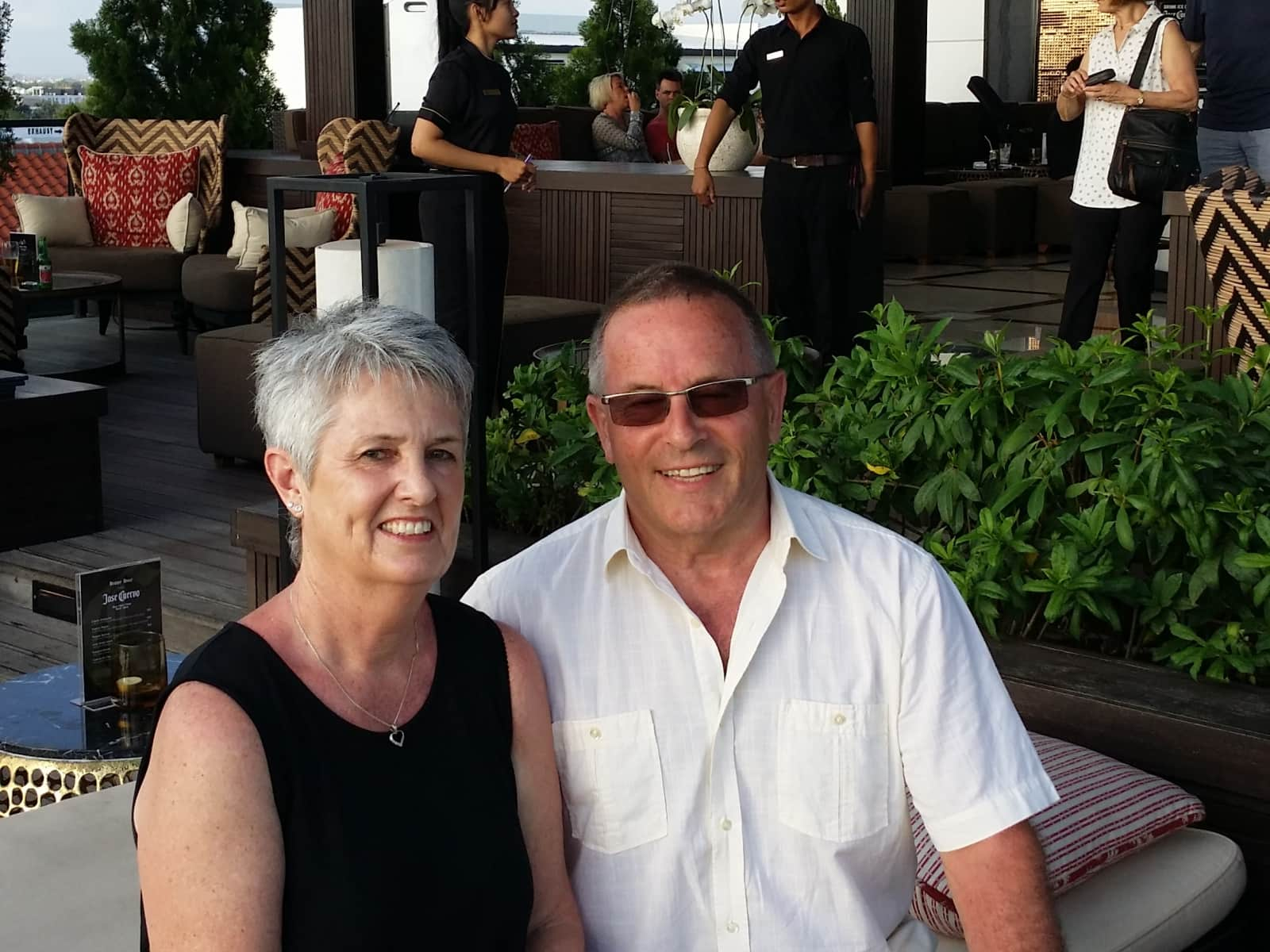 Cherry and garry & Garry from Silverdale, New Zealand