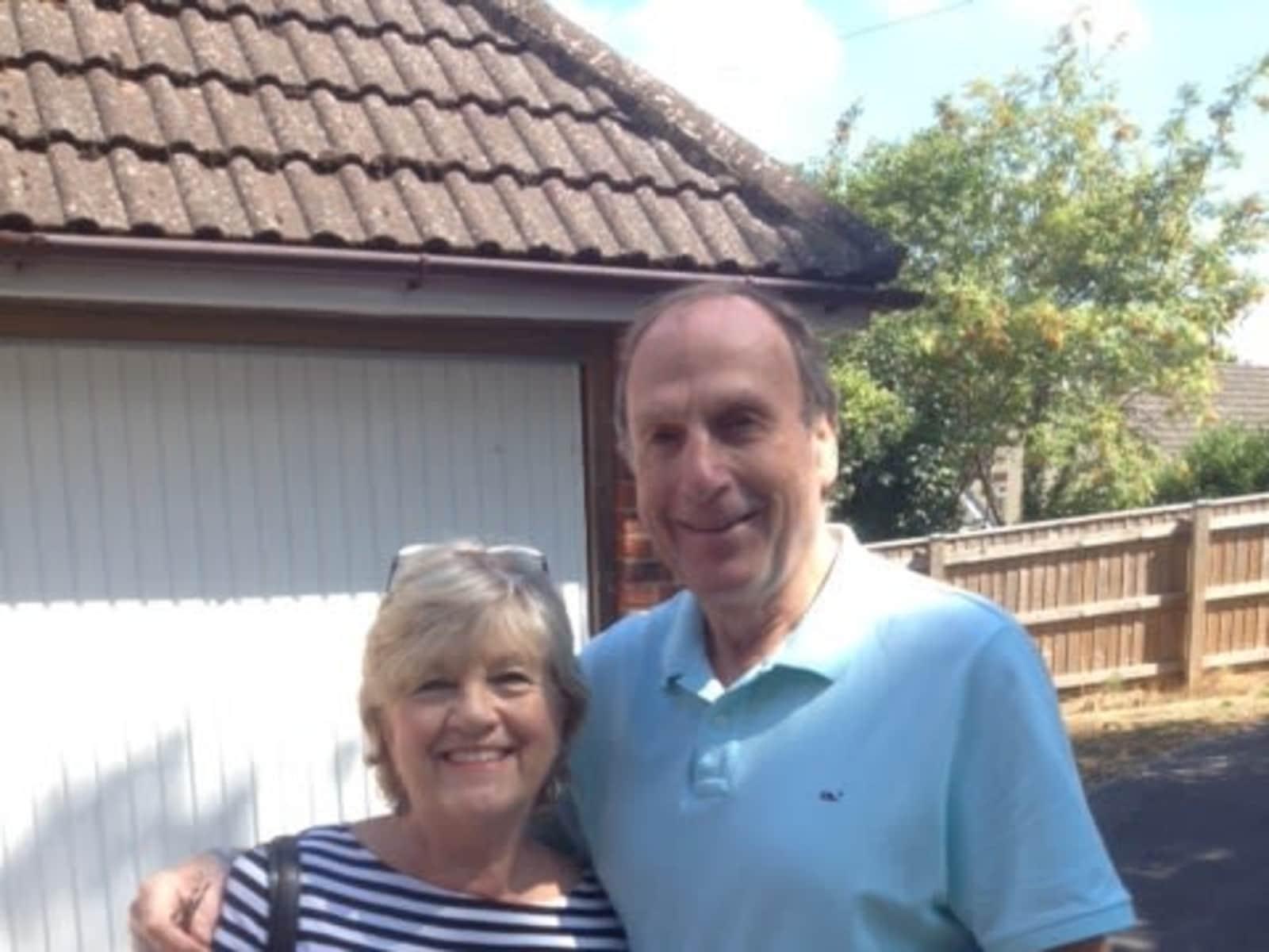 Kenneth & Marilyn from Bath, United Kingdom