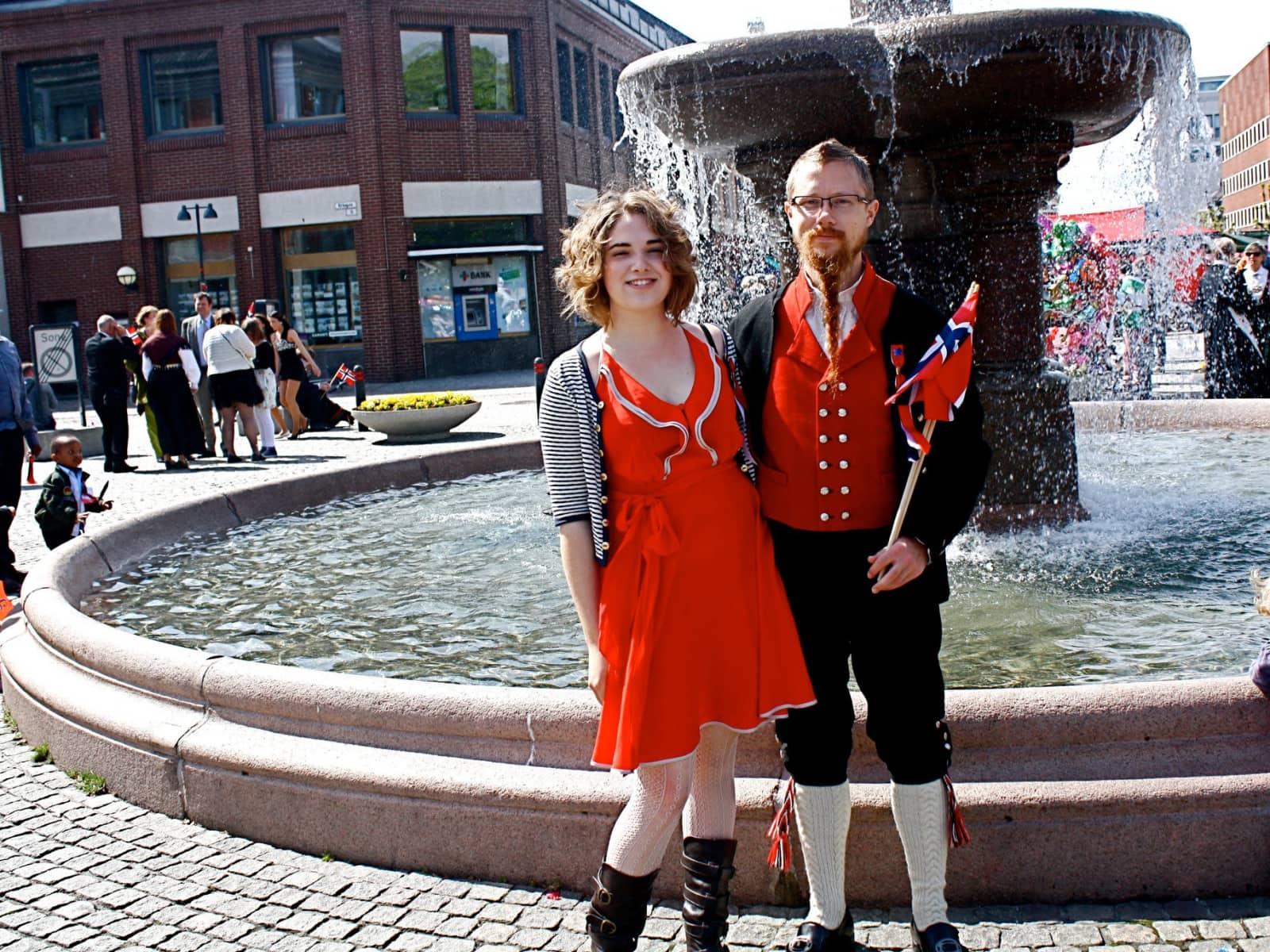 Casey & Øystein from Haugesund, Norway