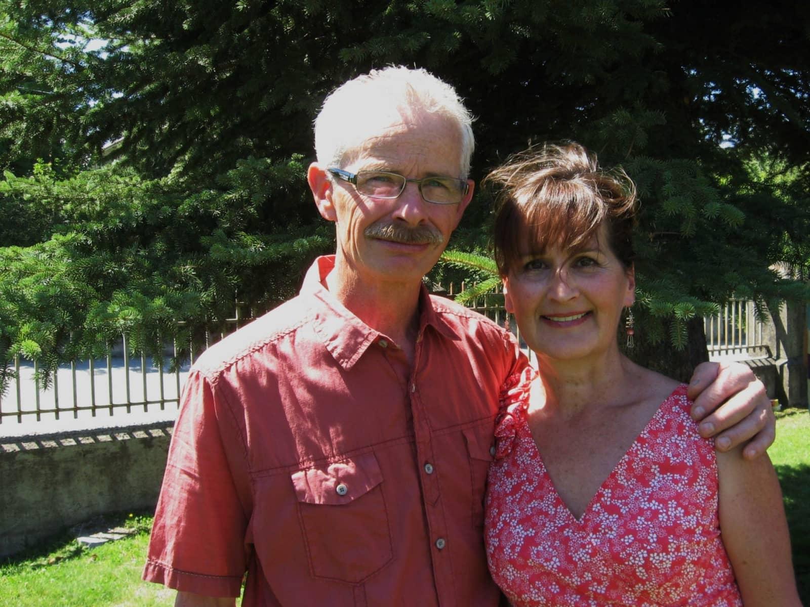 Philomena & Barrie from Fernie, British Columbia, Canada