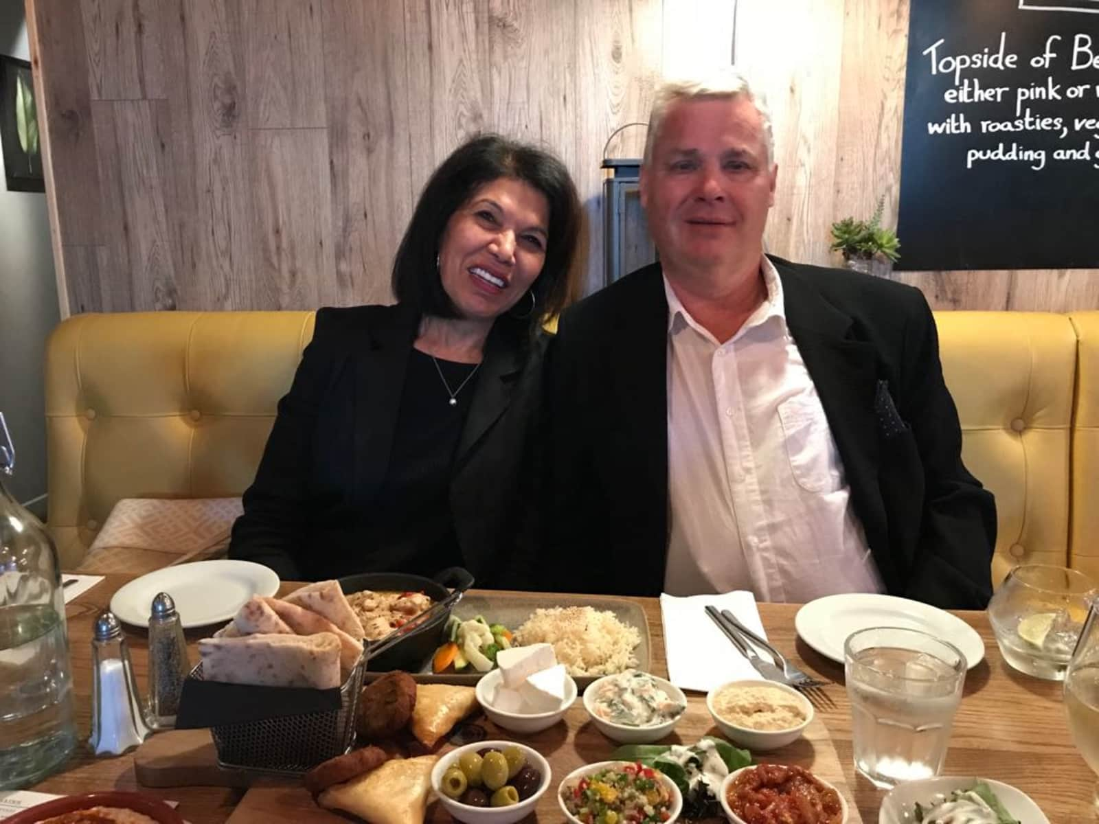 Donald & Sudha from Manchester, United Kingdom
