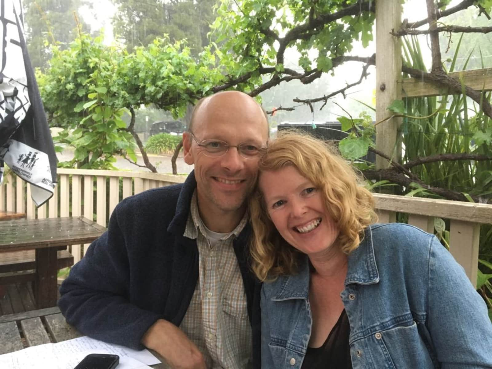 Lesley & Gernot from Warburton, Victoria, Australia