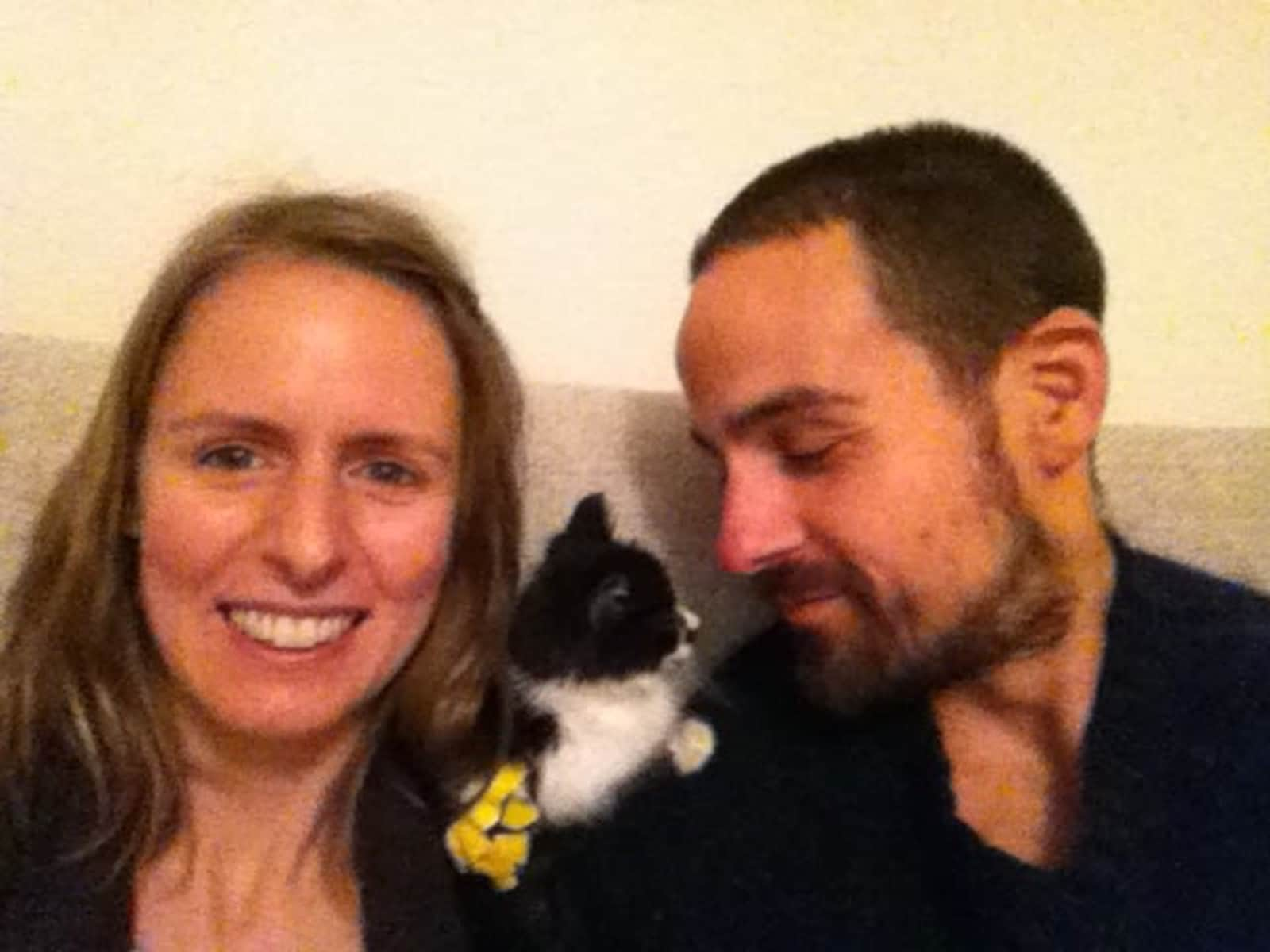 Eve & Kenneth from Victoria, British Columbia, Canada