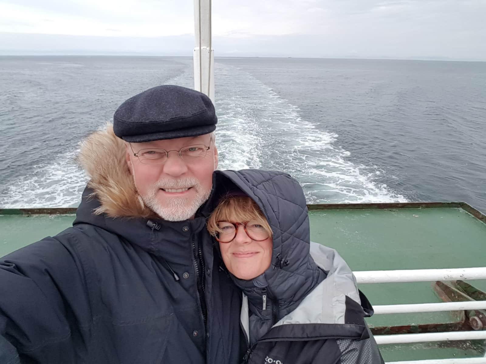Gudrun & Thor from Reykjavík, Iceland