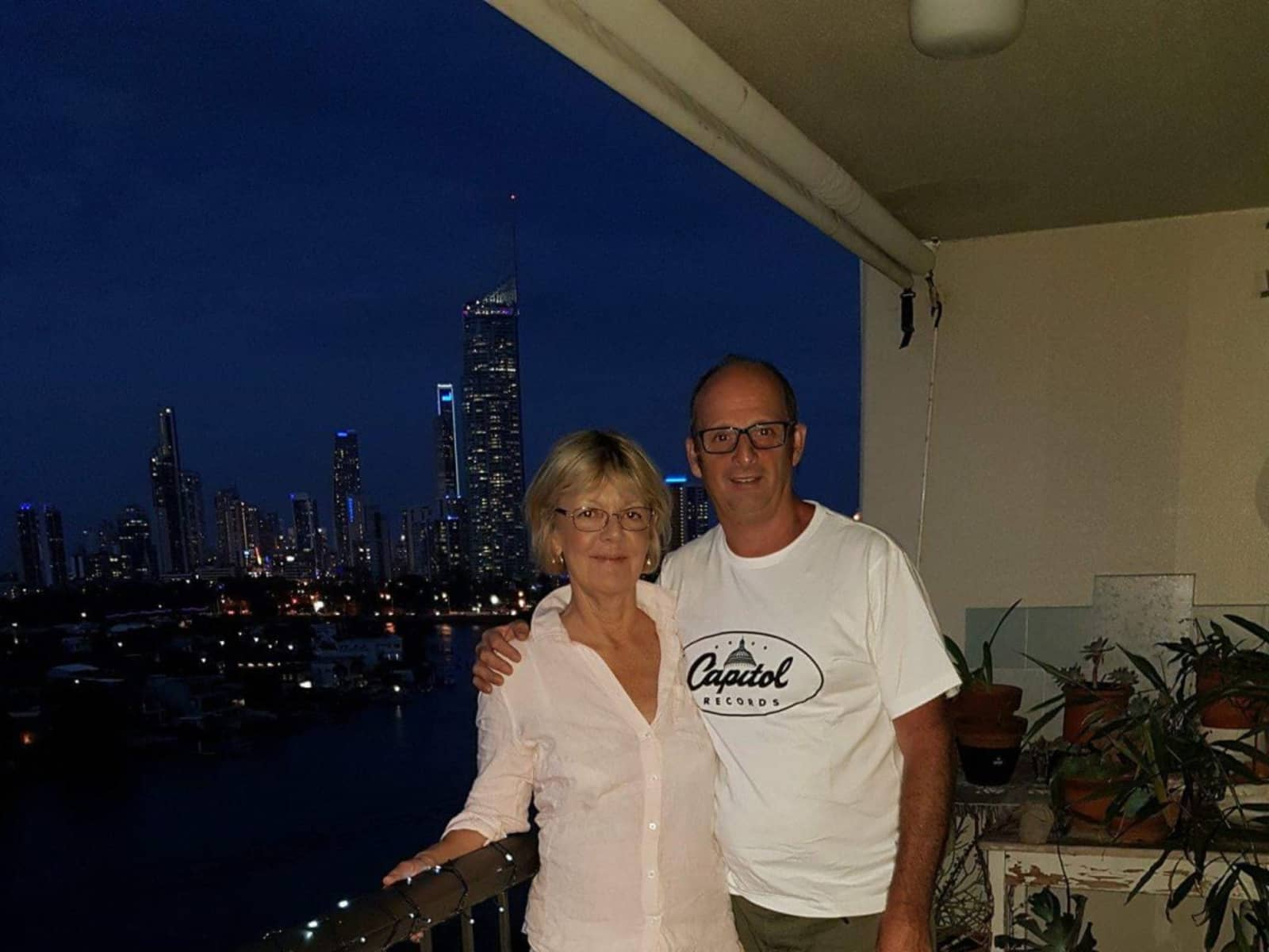 Steve & Lindy from Gold Coast, Queensland, Australia