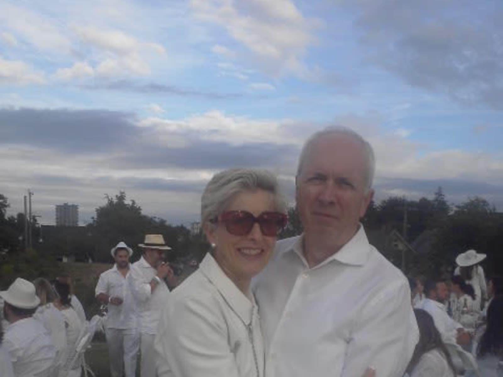 Carolyn & Gordon from Victoria, British Columbia, Canada