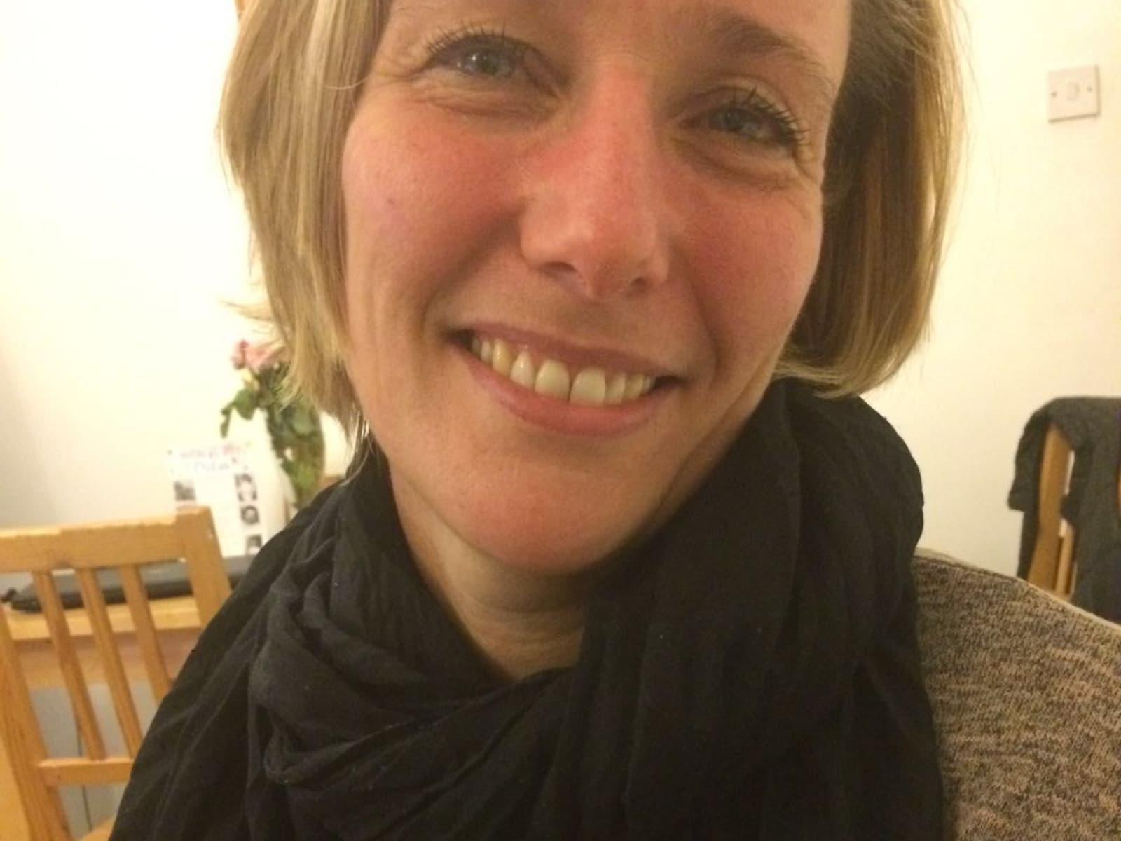 Christine from London, United Kingdom