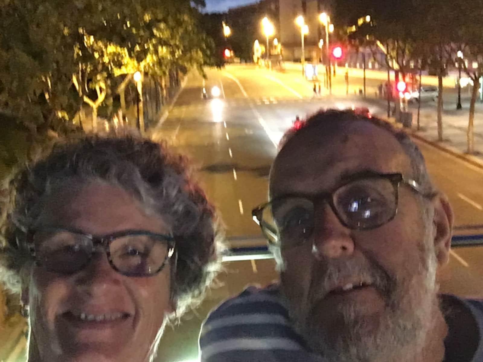 Lynette & Barry from Buderim, Queensland, Australia