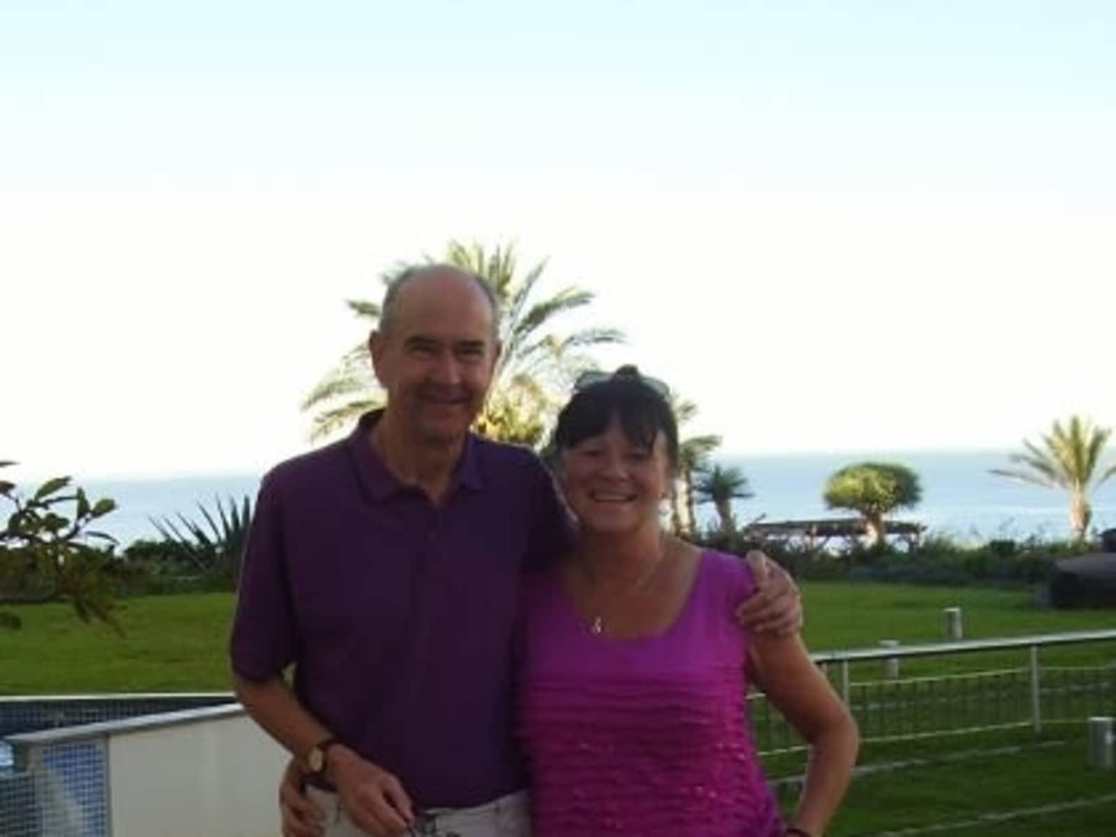 Susan & Steve from Stratford-upon-Avon, United Kingdom
