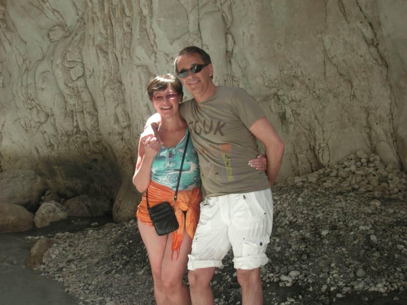 Christine & Martin from Harpenden, United Kingdom