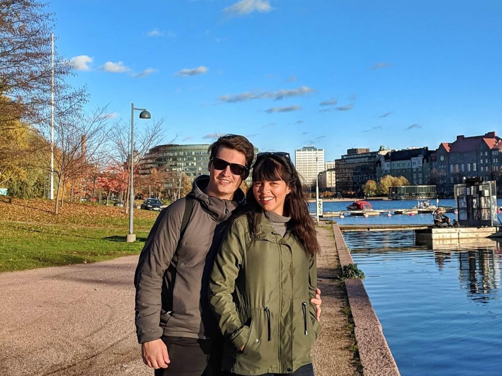 Melanie & Benjamin from Melbourne, Victoria, Australia