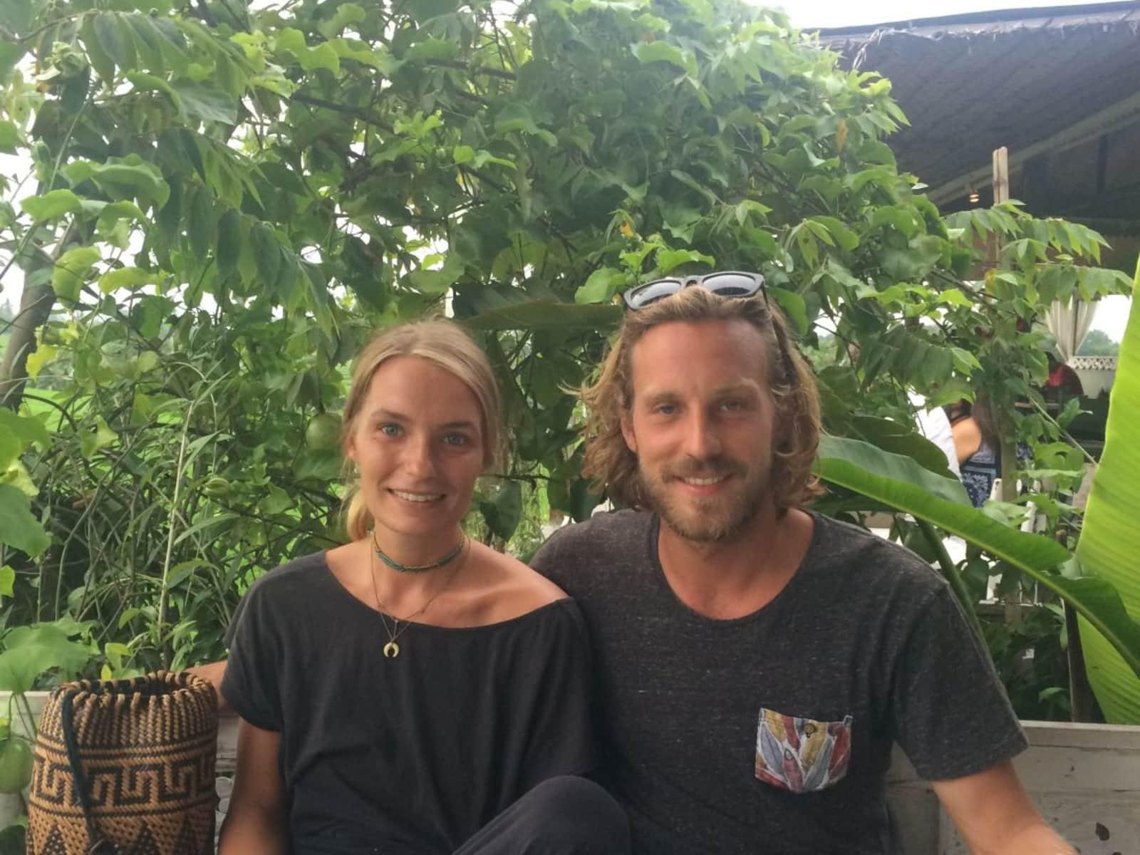 Lara & Florian from Maastricht, Netherlands