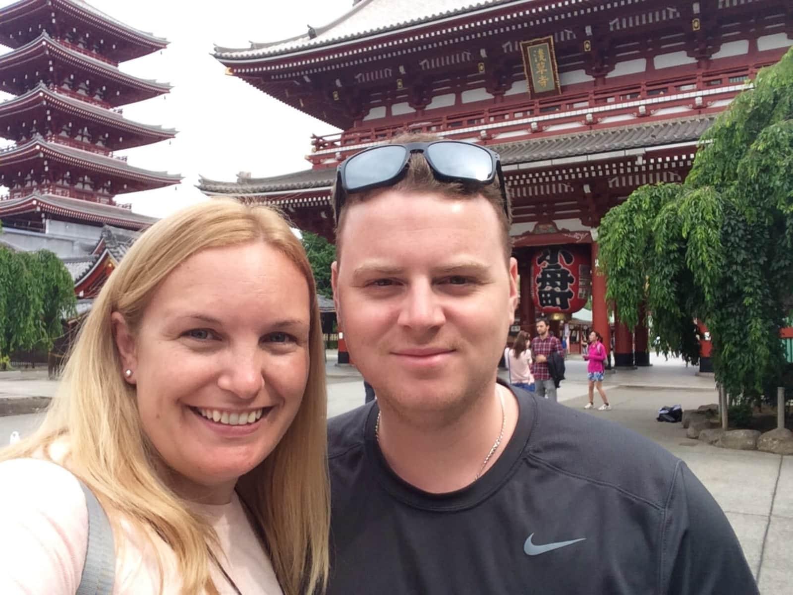 Anna & Matt from Brisbane, Queensland, Australia