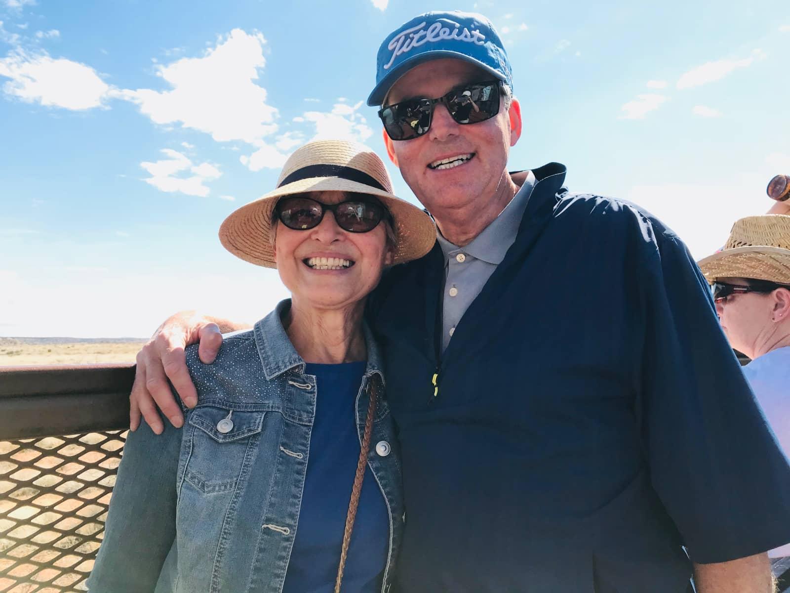 Darlene & John from Regina, Saskatchewan, Canada